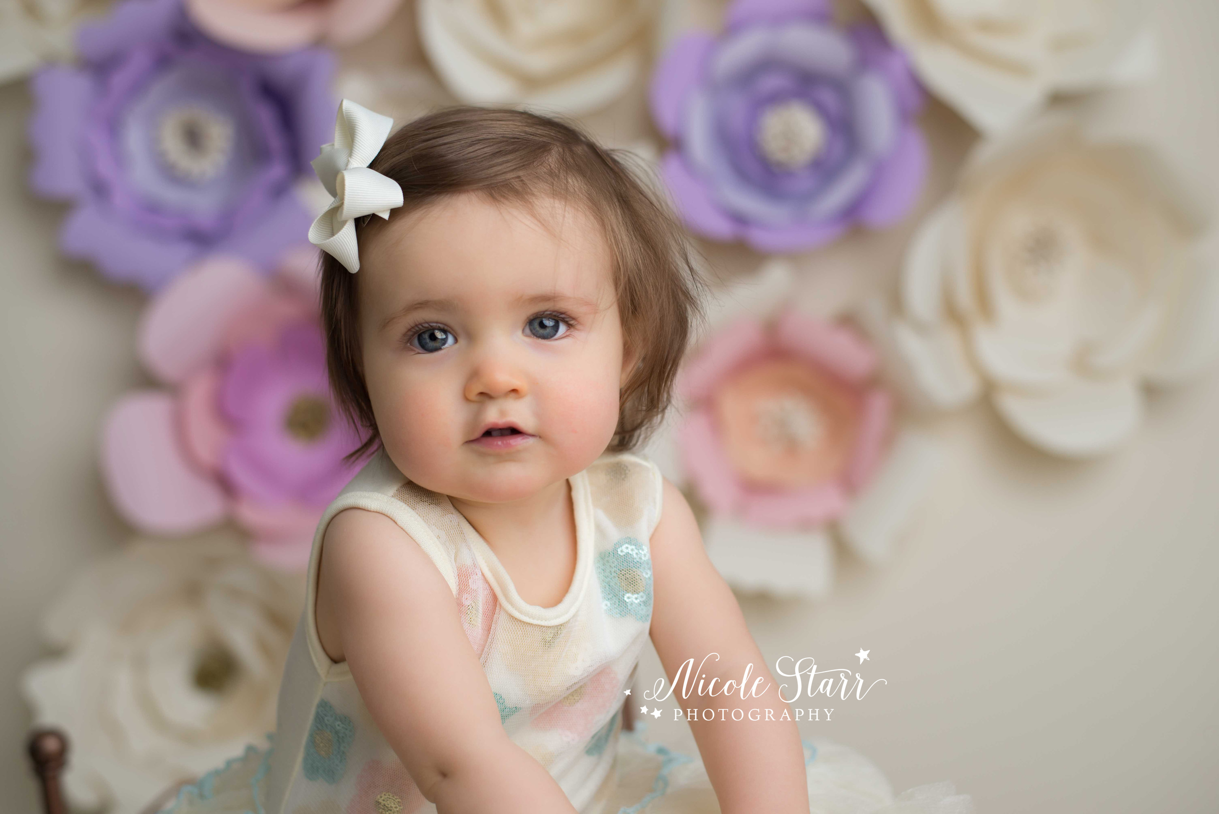 albany saratoga springs baby photographer fancy styled floral session