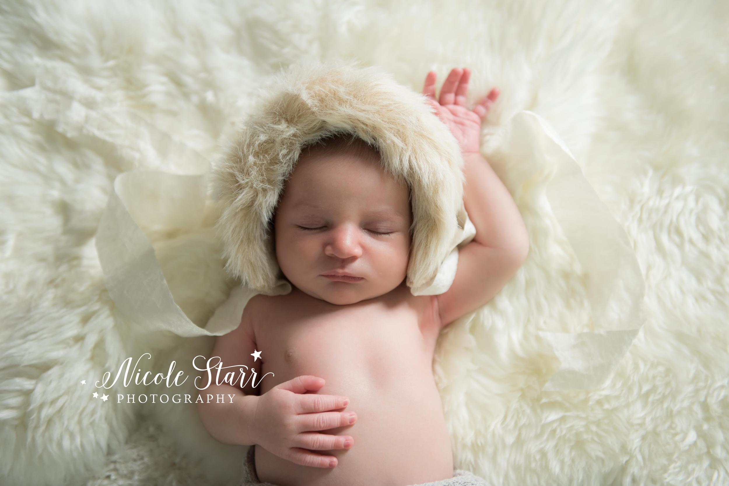 little evie prop shop fur eskimo bonnet
