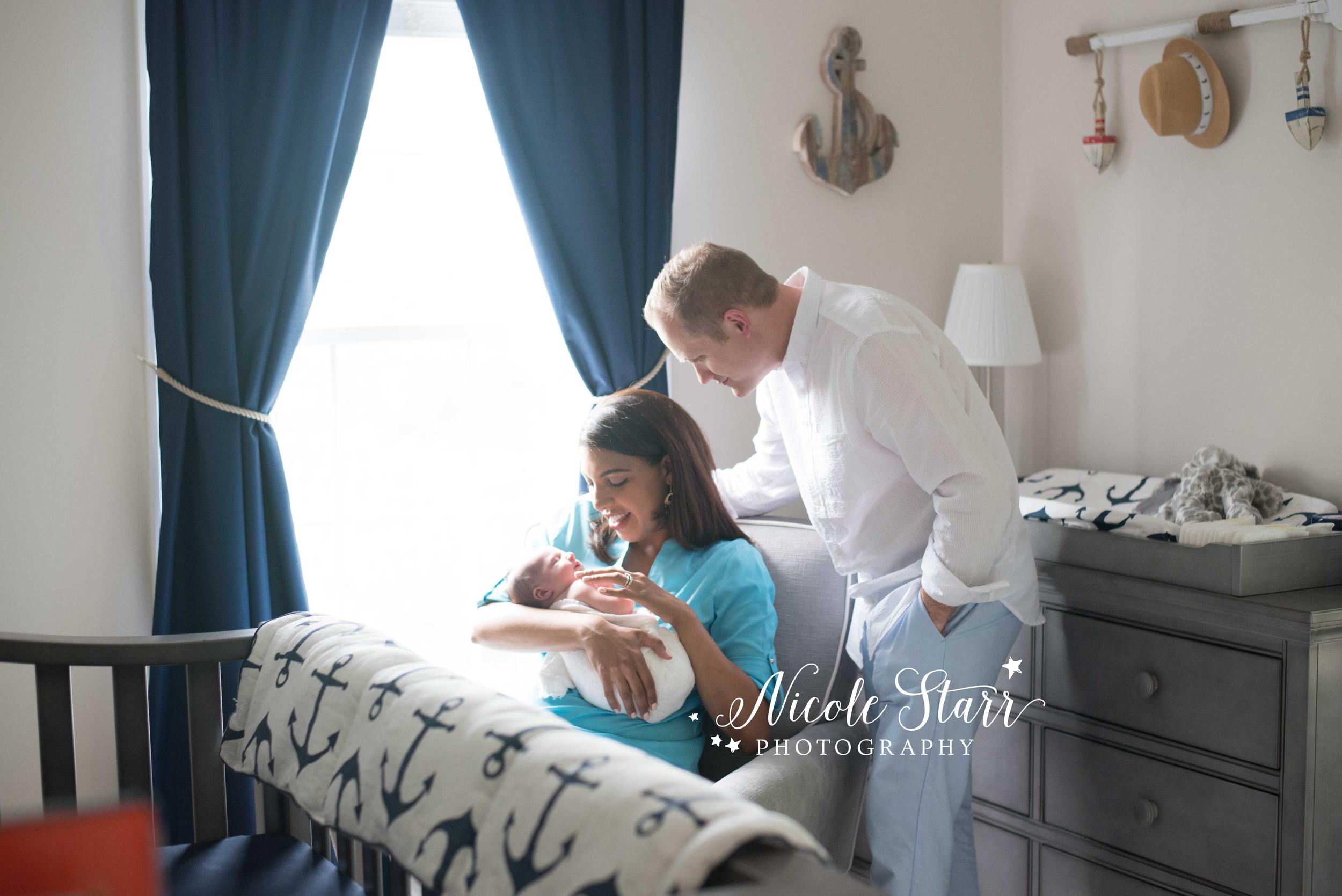 lifestyle newborn session albany newborn photographer