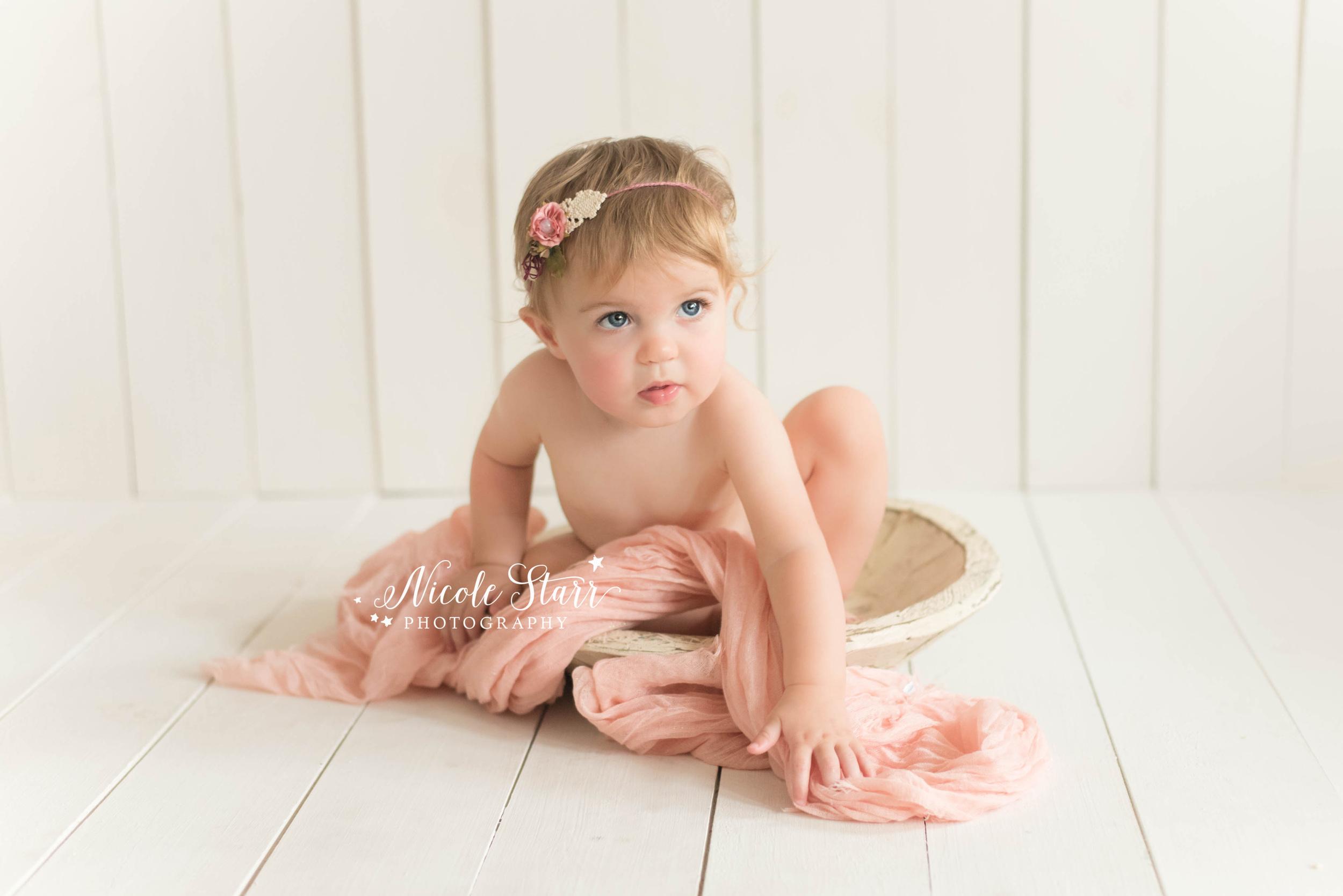 Saratoga Springs Albany organic baby photography