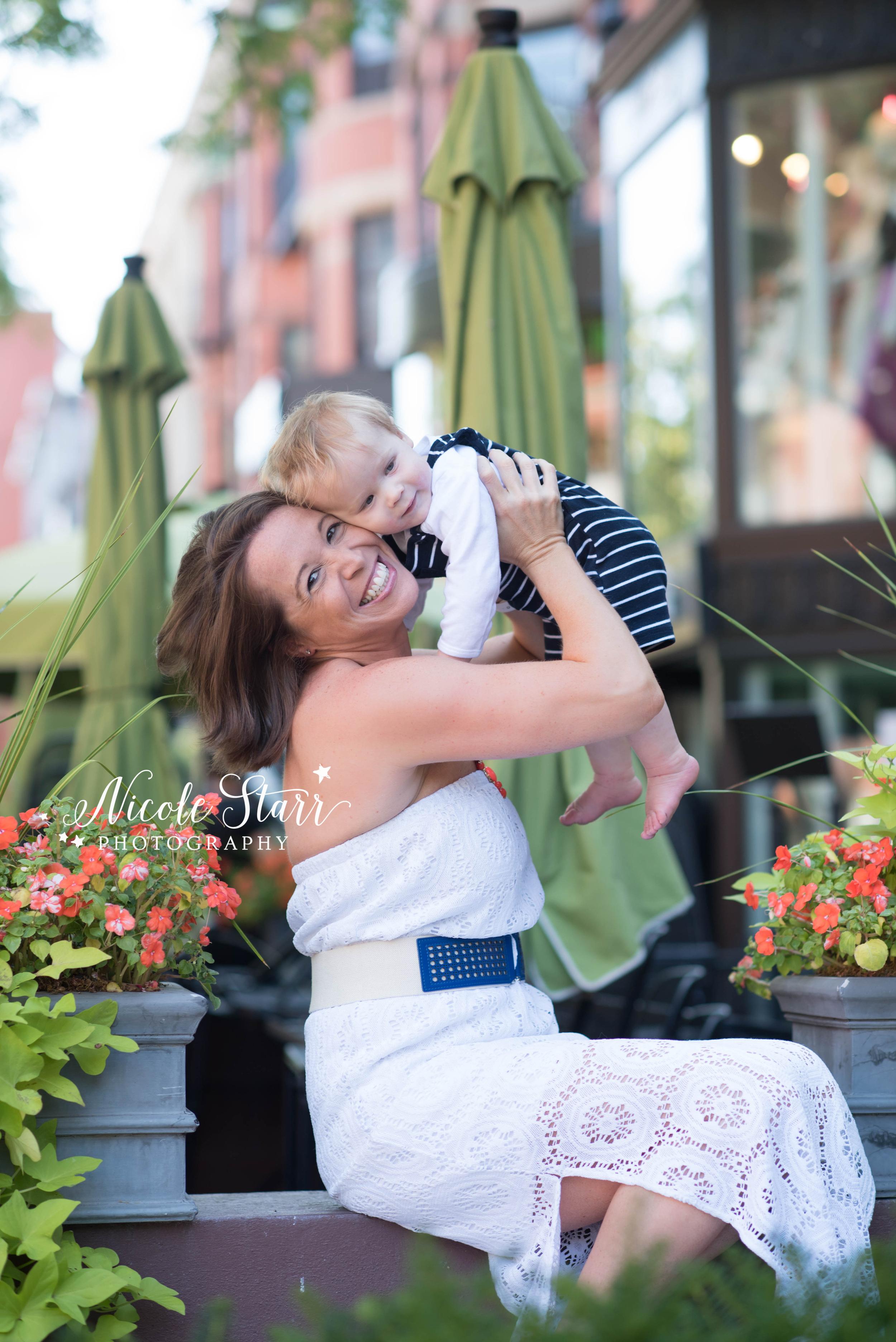 boston family photographer newbury street mom and baby.jpg