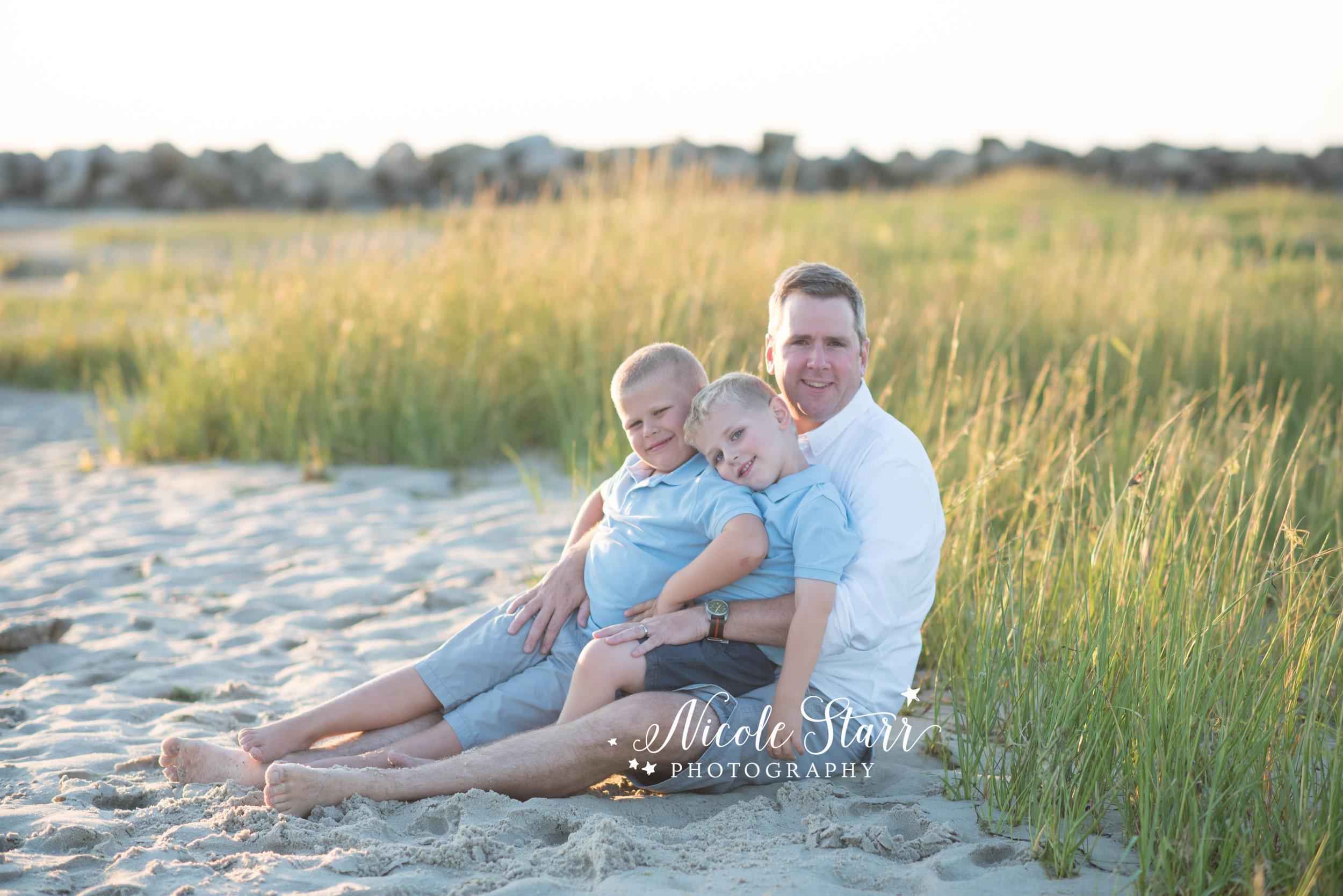 family photos on the beach with Cape Cod and Boston photographer 5.jpg