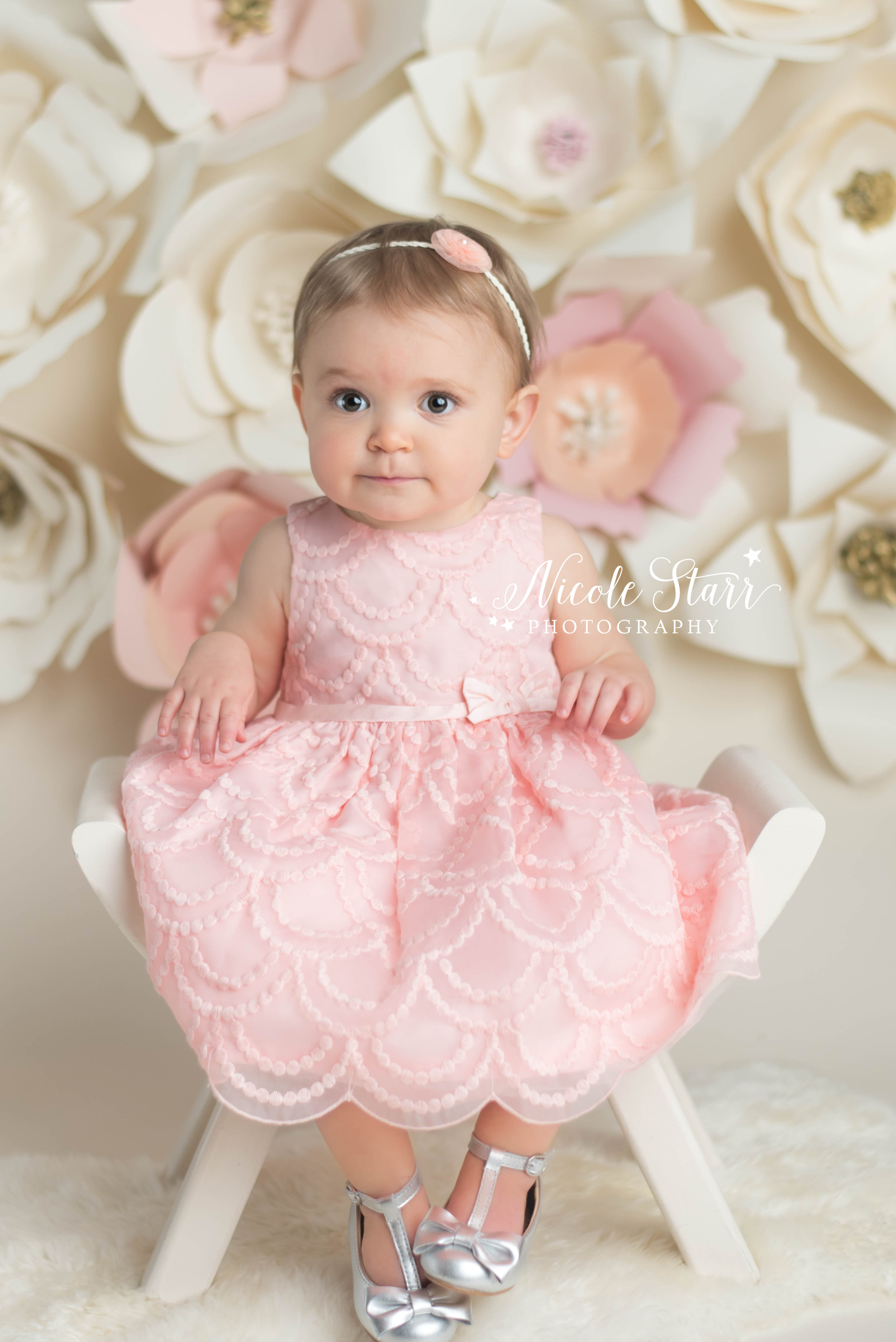 Our Famous Paper Flower Backdrop Is Back Again Saratoga Springs Boston Baby Photographer Nicole Starr Photography