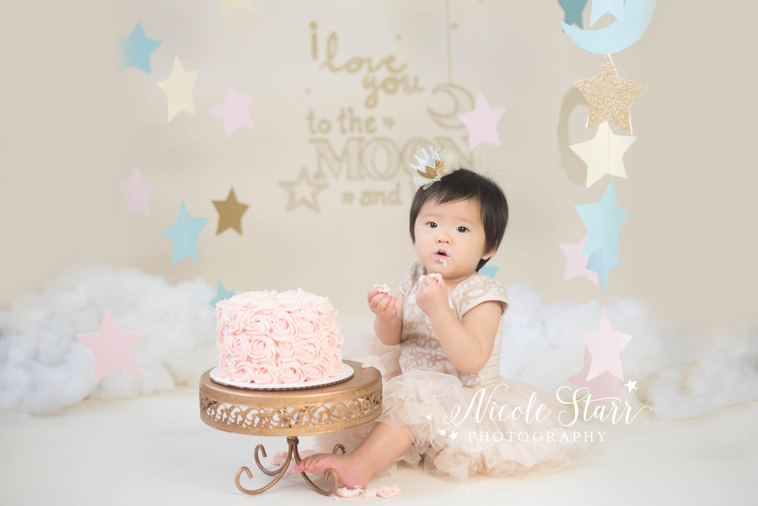 saratoga springs cake smash baby photographer, boston cake smash baby photographer