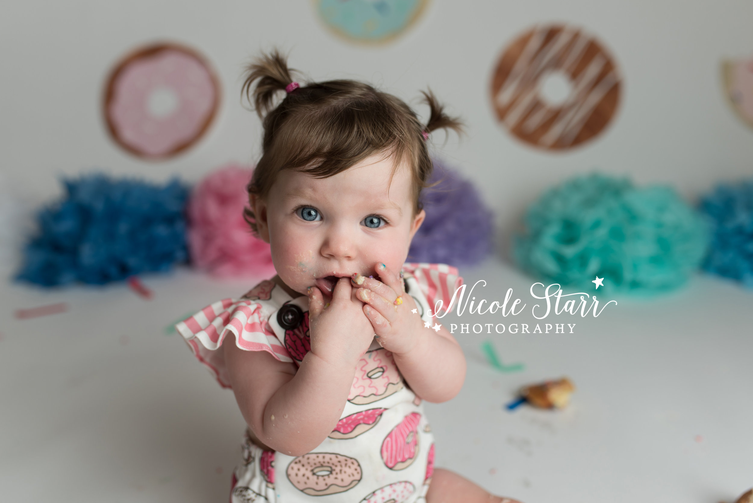 Nicole Starr Photography | Saratoga Springs Donut Smash Photographer | Boston Donut Smash Photographer | Saratoga Springs Baby Photographer | Boston Baby Photographer | Union Square Donuts