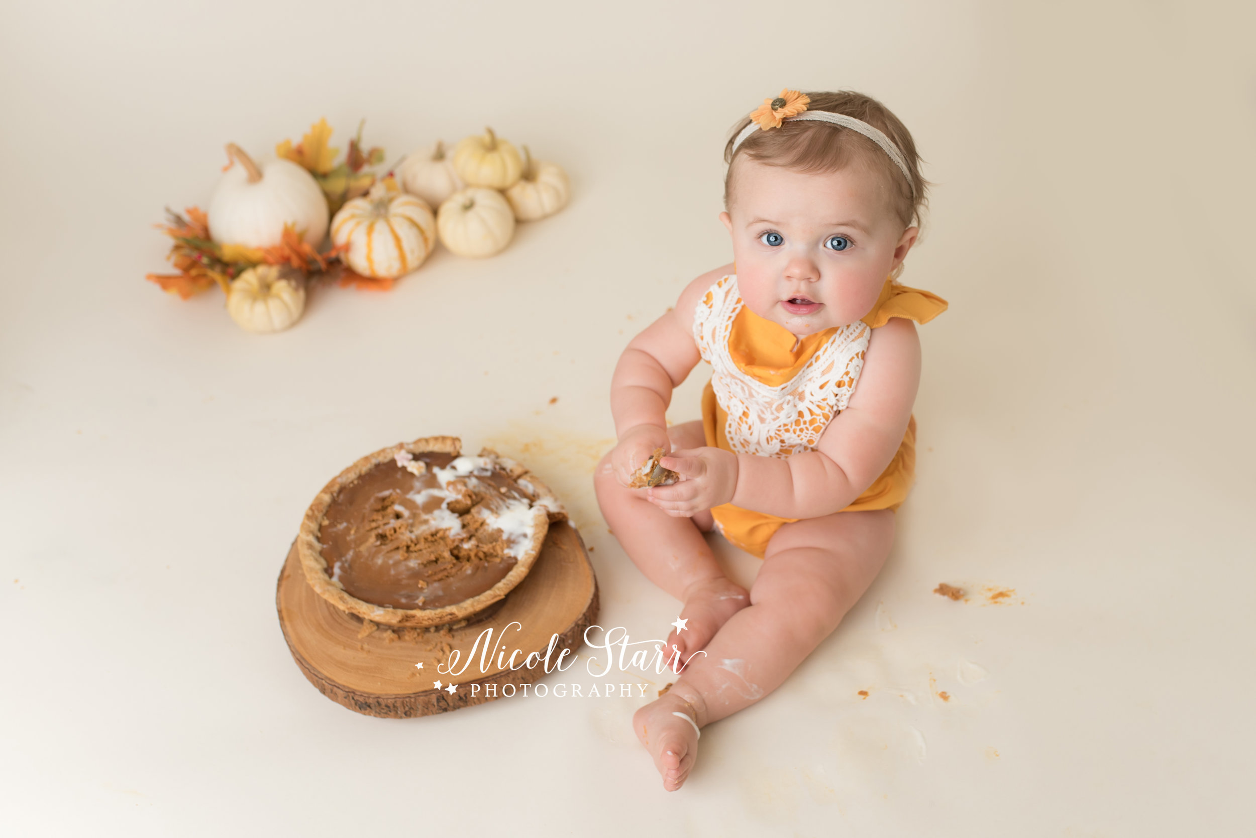 Nicole Starr Photography | Saratoga Springs Pumpkin Pie Smash Photographer | Boston Pumpkin Pie Smash Photographer | Saratoga Springs Baby Photographer | Boston Baby Photographer | pumpkin pie