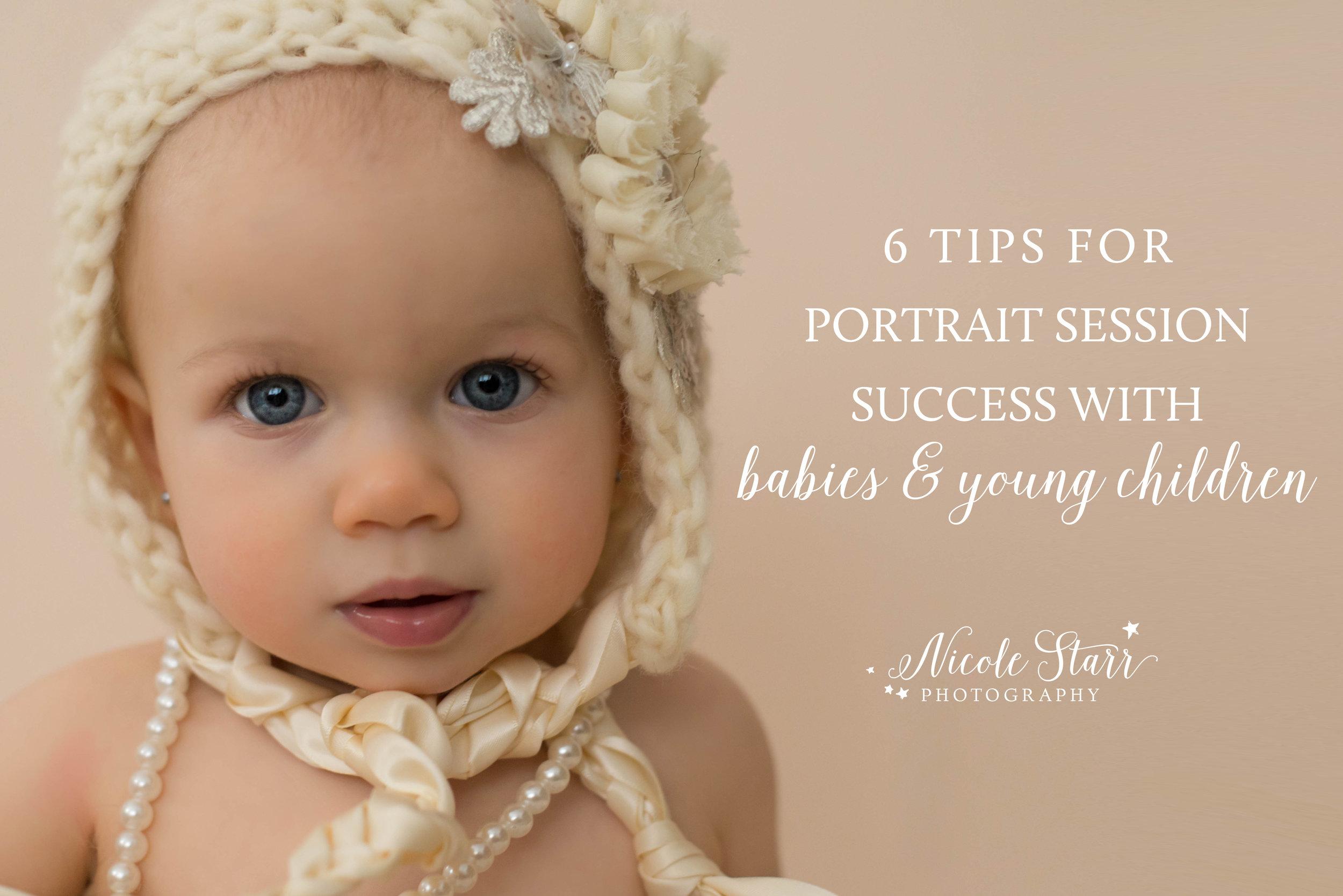 portrait session success tips