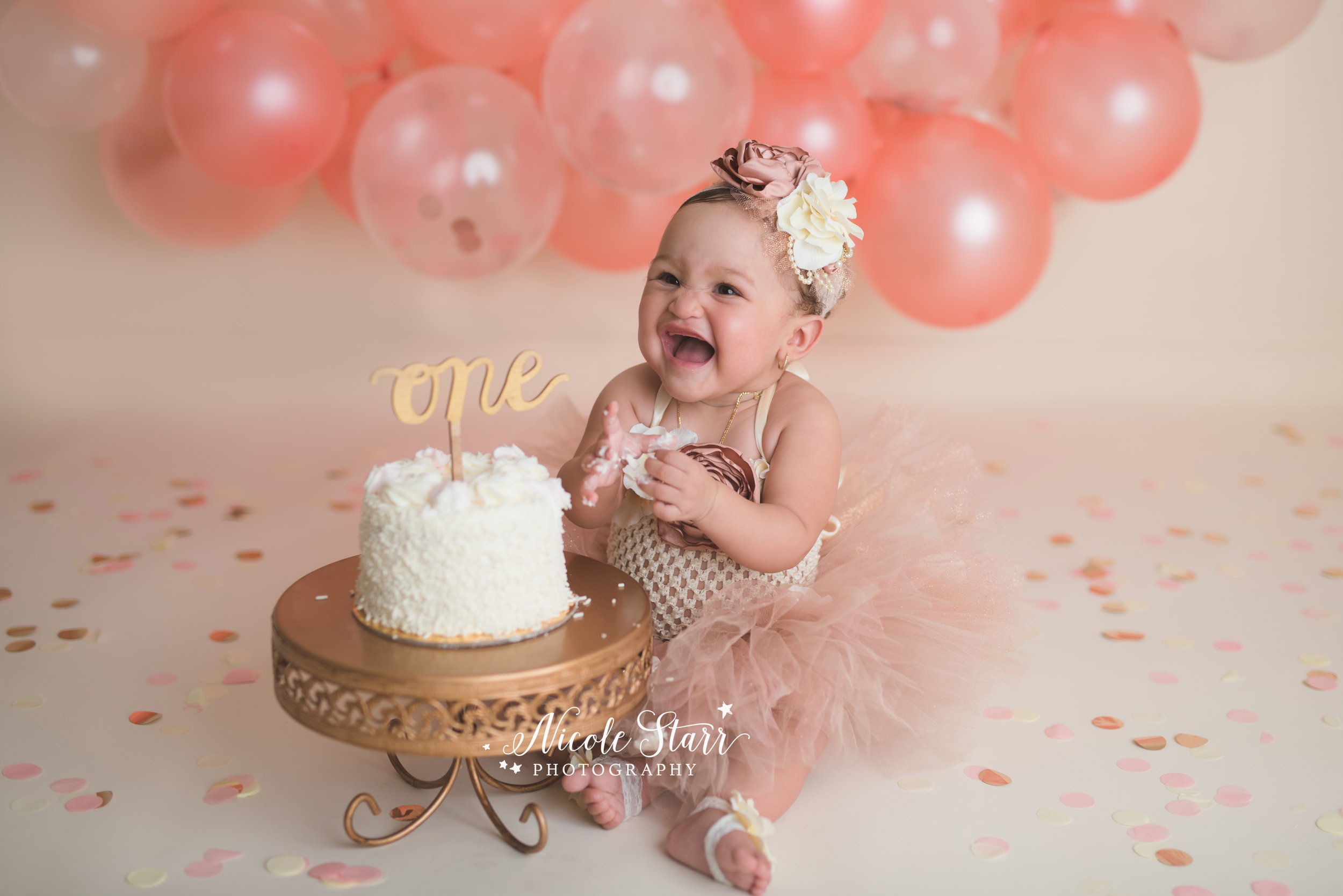 Nicole Starr Photography | Saratoga Springs Cake Smash Photographer | Boston Cake Smash Photographer | Saratoga Springs Family Photographer | Boston Family Photographer