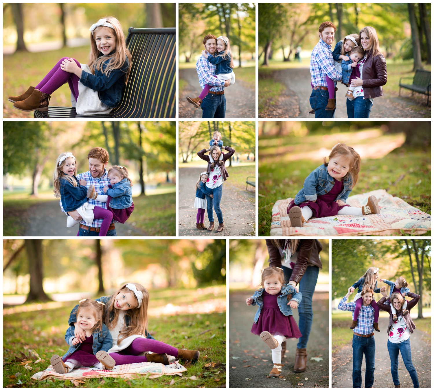 fall family mini session, saratoga springs mini session, nicole starr photography