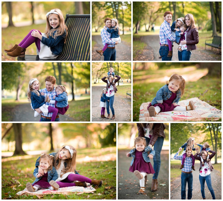 fall family mini session, saratoga springs mini session, nicole starr photography