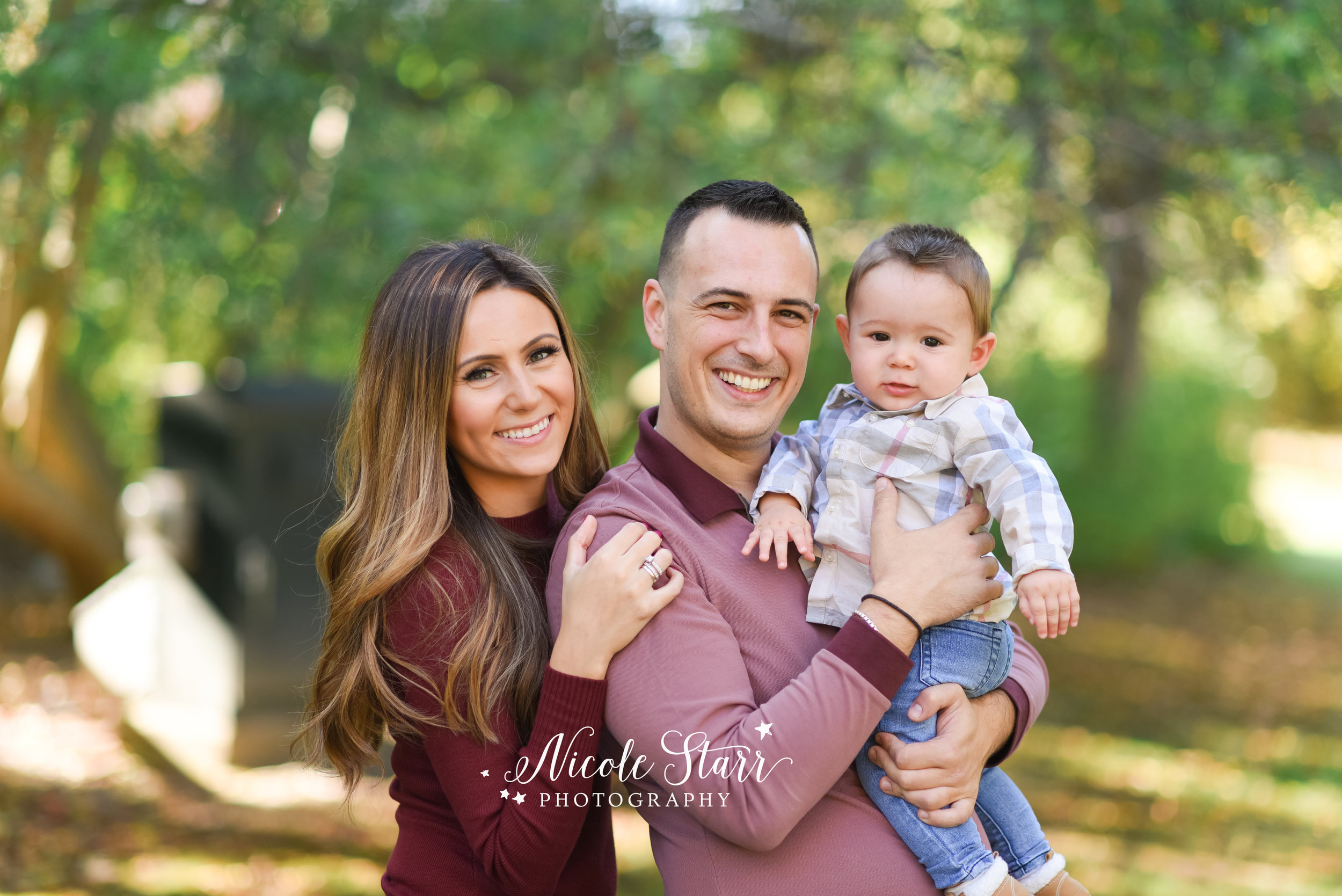fall family mini session, foliage family photos, fall family photos saratoga springs, nicole starr photography