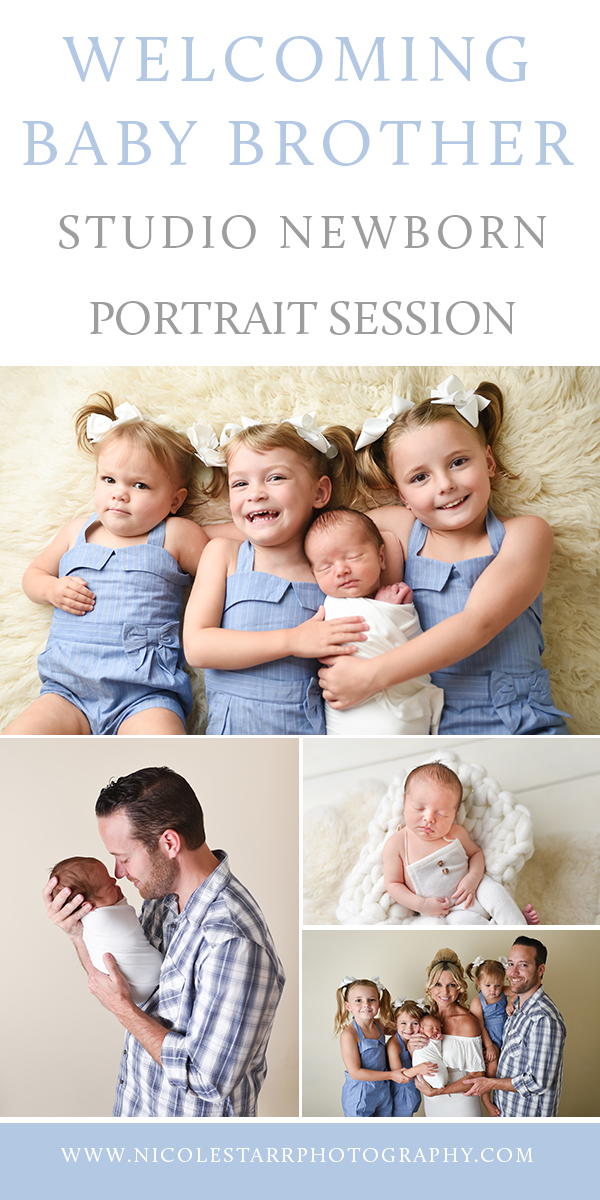 Nicole Starr Photography | Saratoga Springs Newborn Photographer | Boston Newborn Photographer | Upstate NY Newborn Photographer | Newborn Photographer | Delmar NY Newborn Photographer | Loudonville Newborn Photographer | Newborn session for baby boy, baby boy with big sisters, newborn session in Saratoga Springs NY