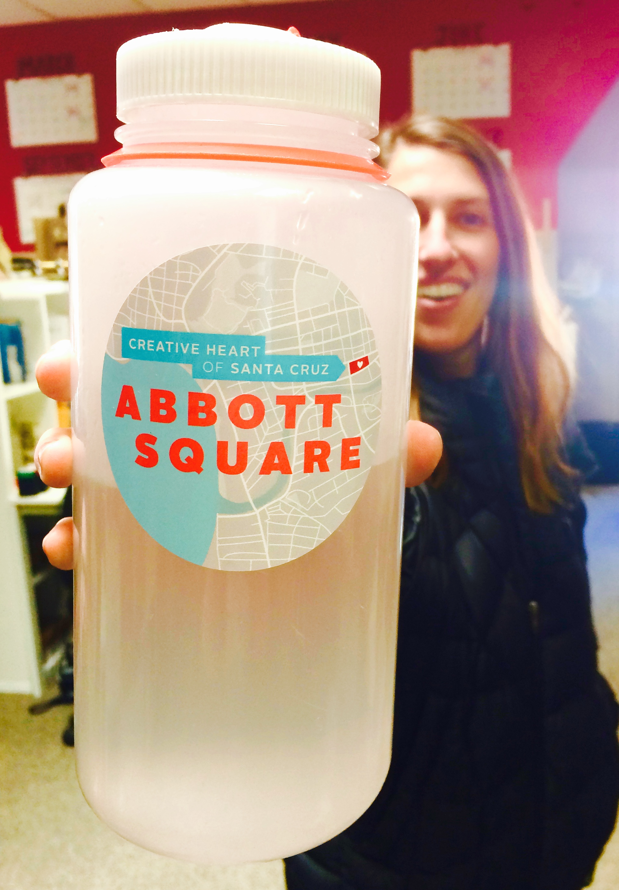 Abbott Square Sticker