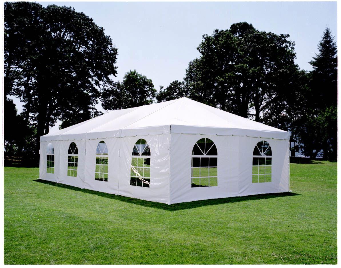 Party Tent with Side Wall