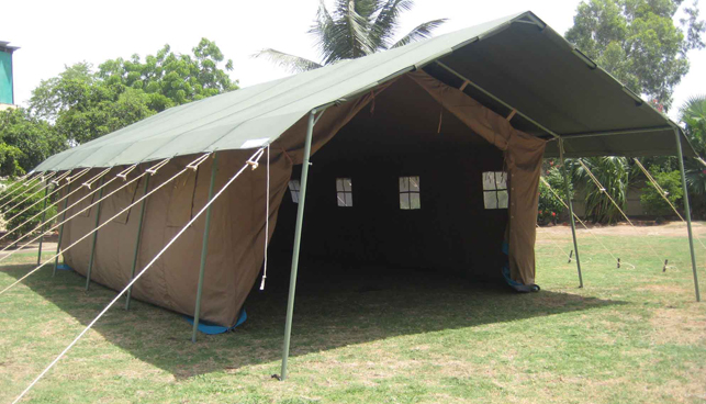Camping Tents with PVC Sheeting