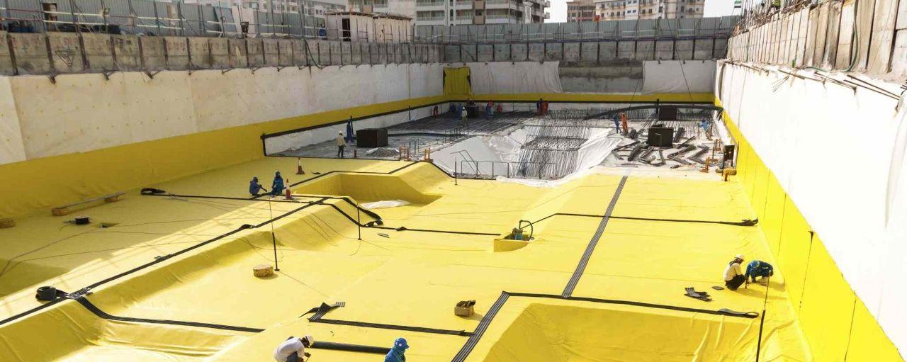 Waterproofing Membrane Manufacturers | PVC Waterproofing