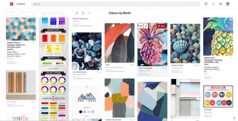 Colour My World: The Amadeus Brand Pinterest Board
