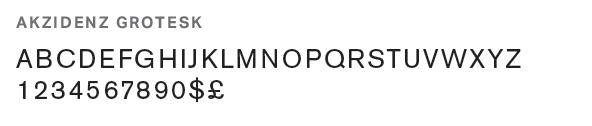The precursor to the modern sans-serif typeface