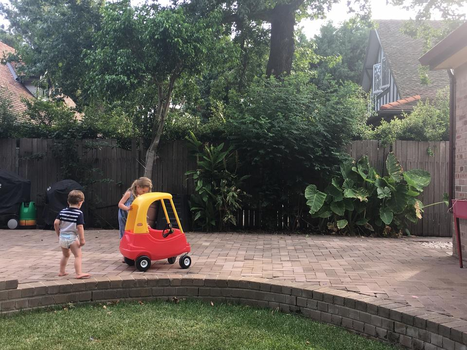 New roads to drive on: the move has been a great one for our family