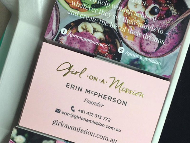 Girl on a Mission: Erin's a powerhouse who also empowers other mums to build successful, profitable businesses.