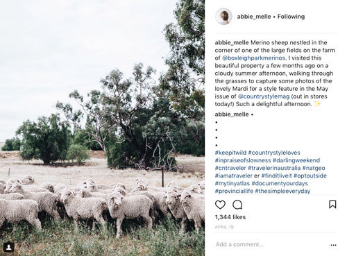 Abbie Melle  takes the most delightful earthy images of rural scenes
