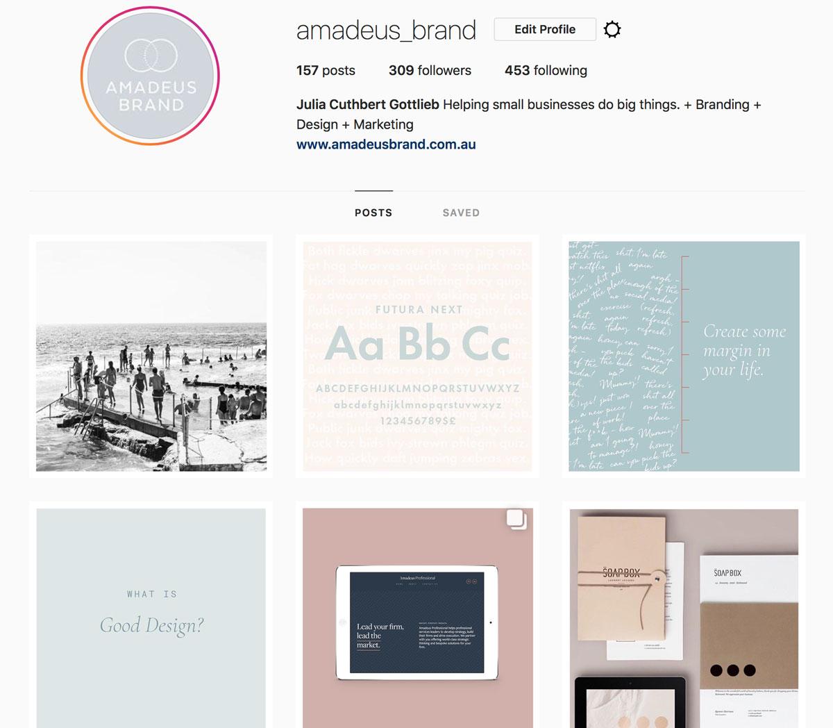 Amadeus Brand  on Instagram