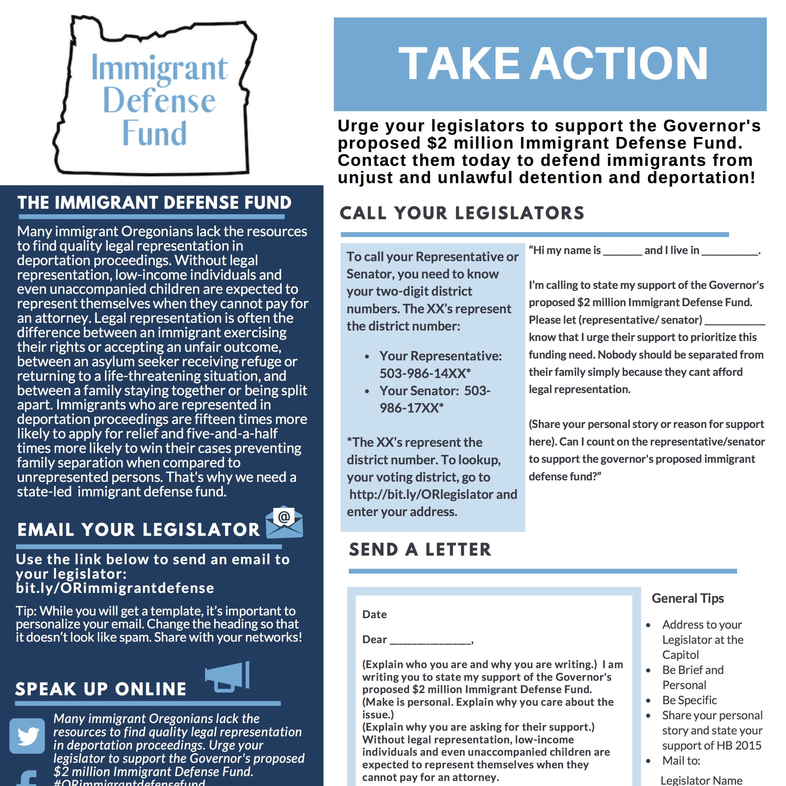 Action: Immigrant Defense Fund