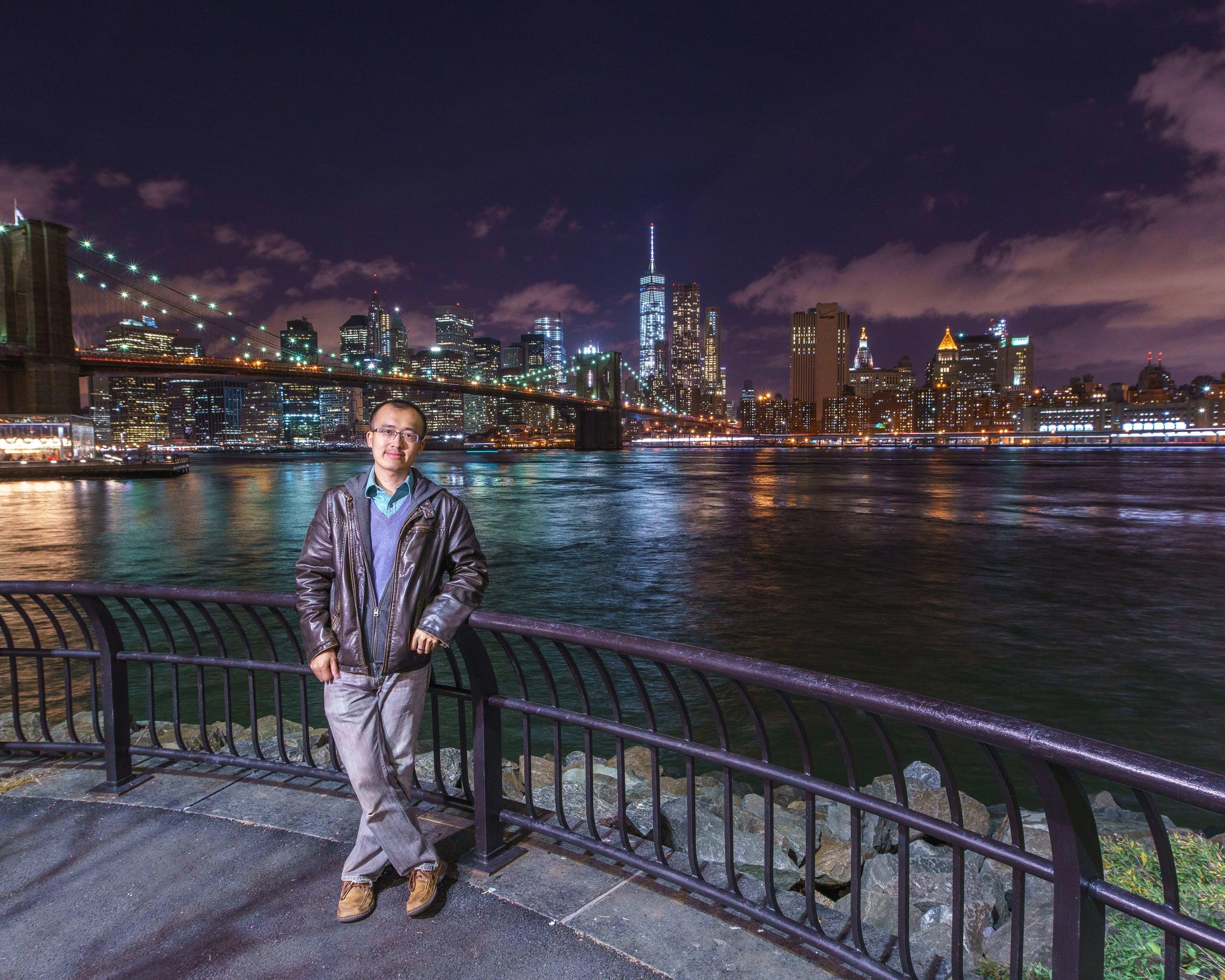 Selfie in the beautiful NYC
