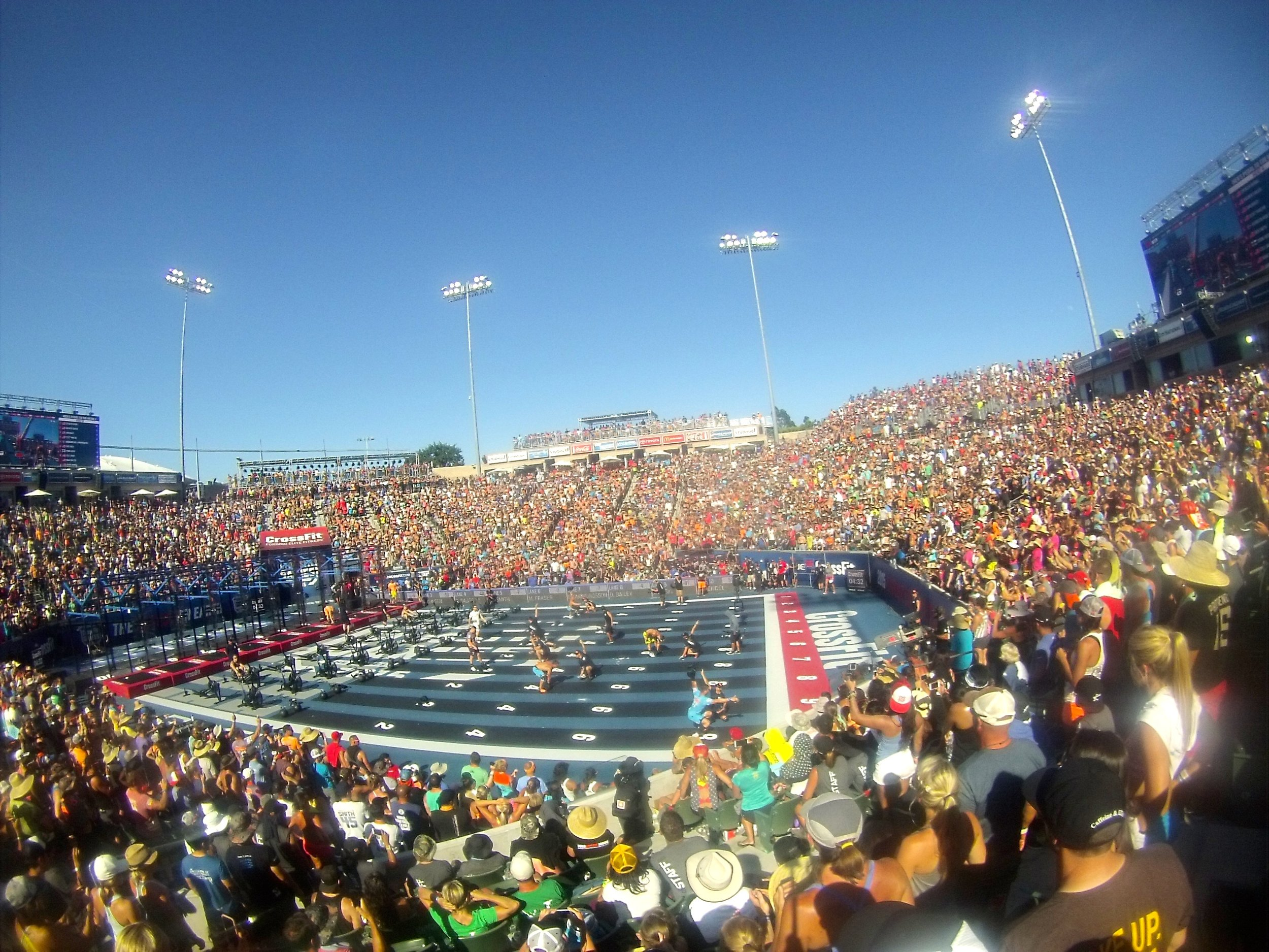 2015 CrossFit Games- What an experience- Nearly that time again.