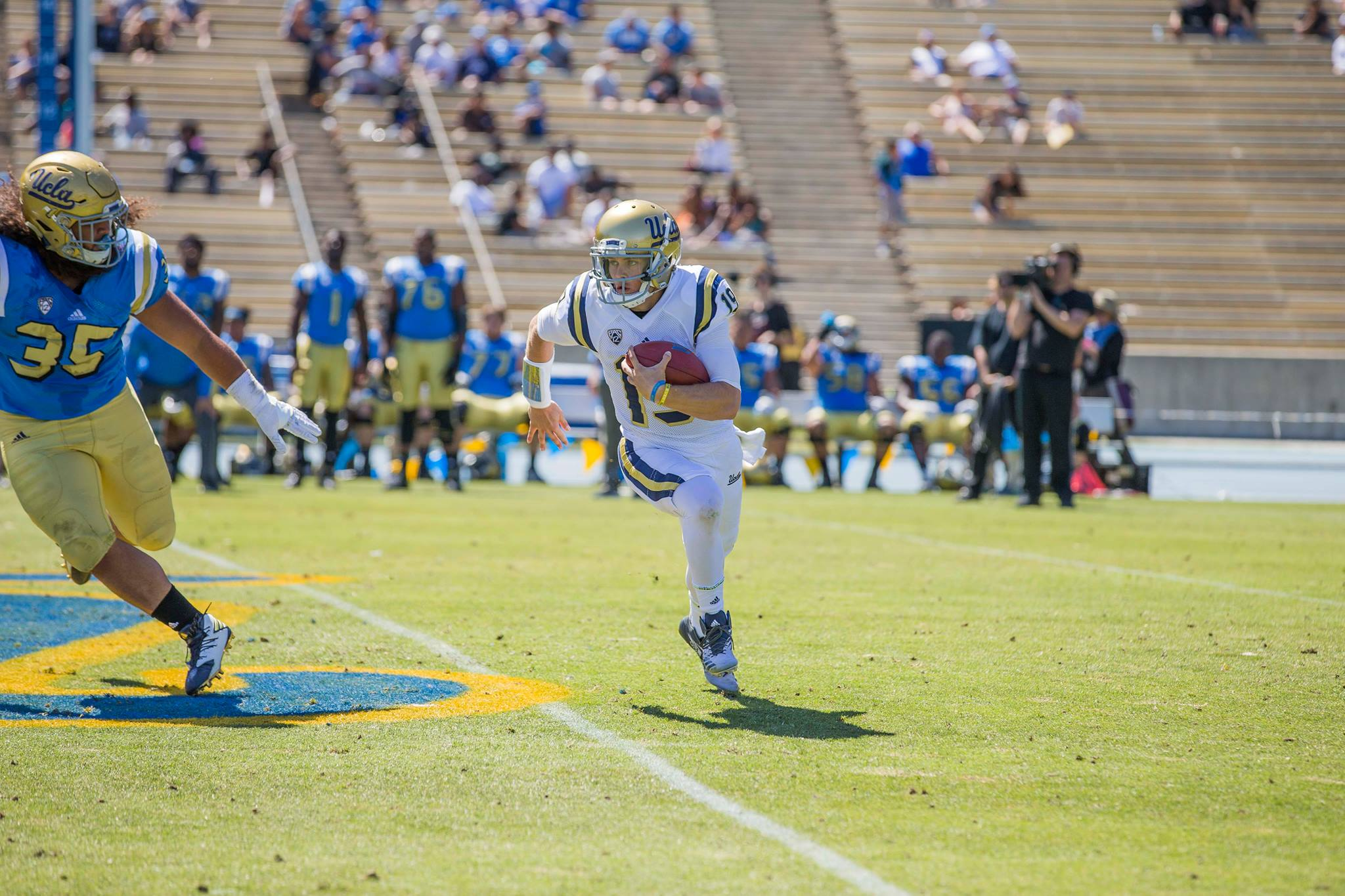 Brother Craig Myers, #19 UCLA Football