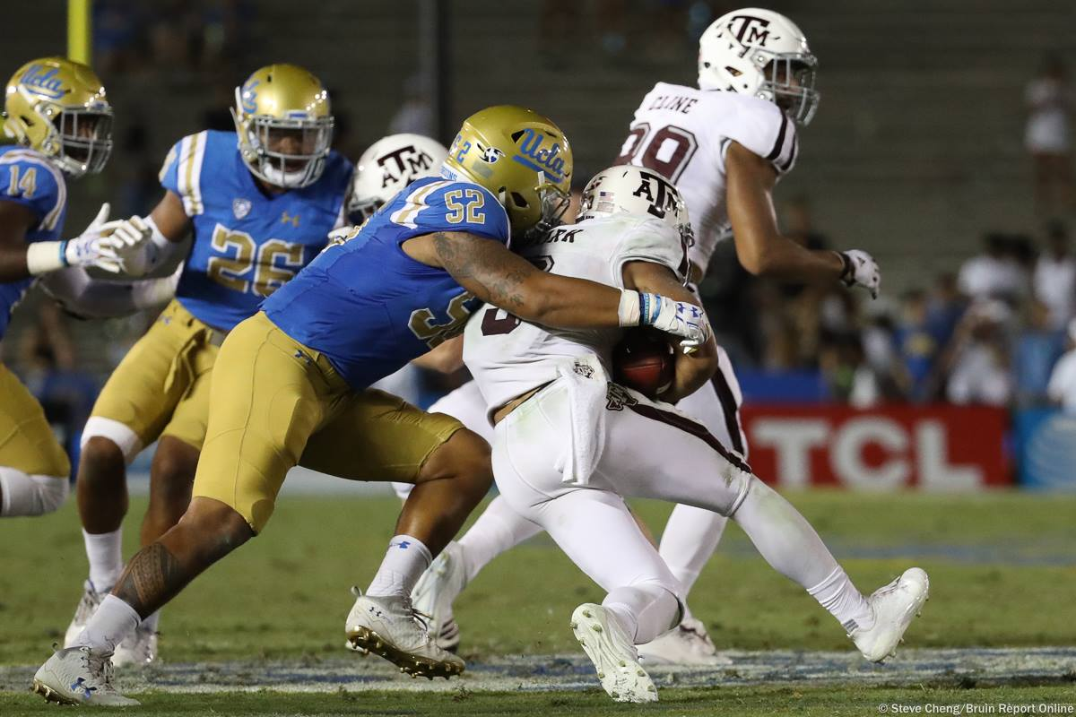 Brother Lokeni Toailoa, #52 UCLA Football