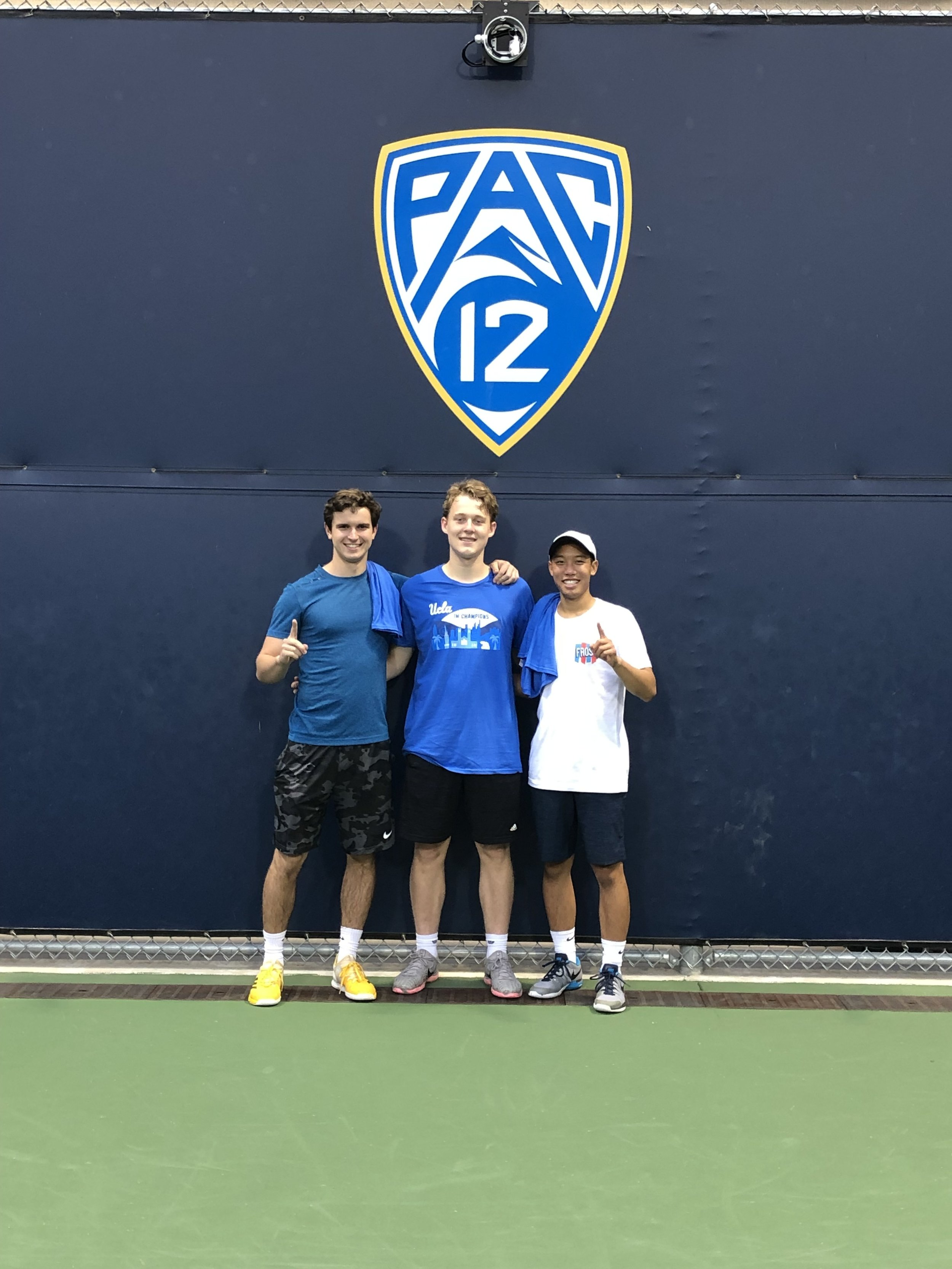 2019 IM Fraternity League Tennis Champs