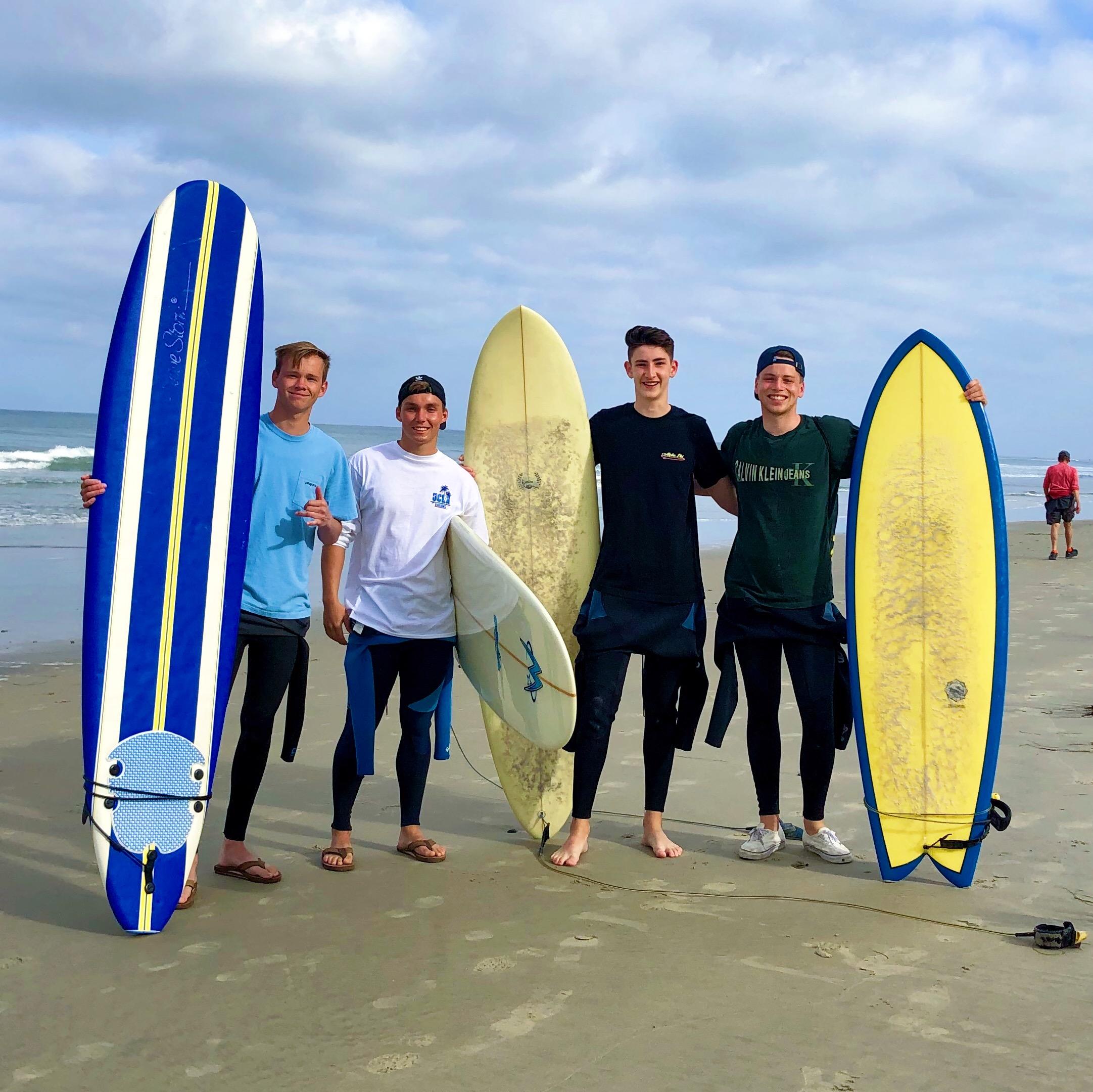 Surfing in SD