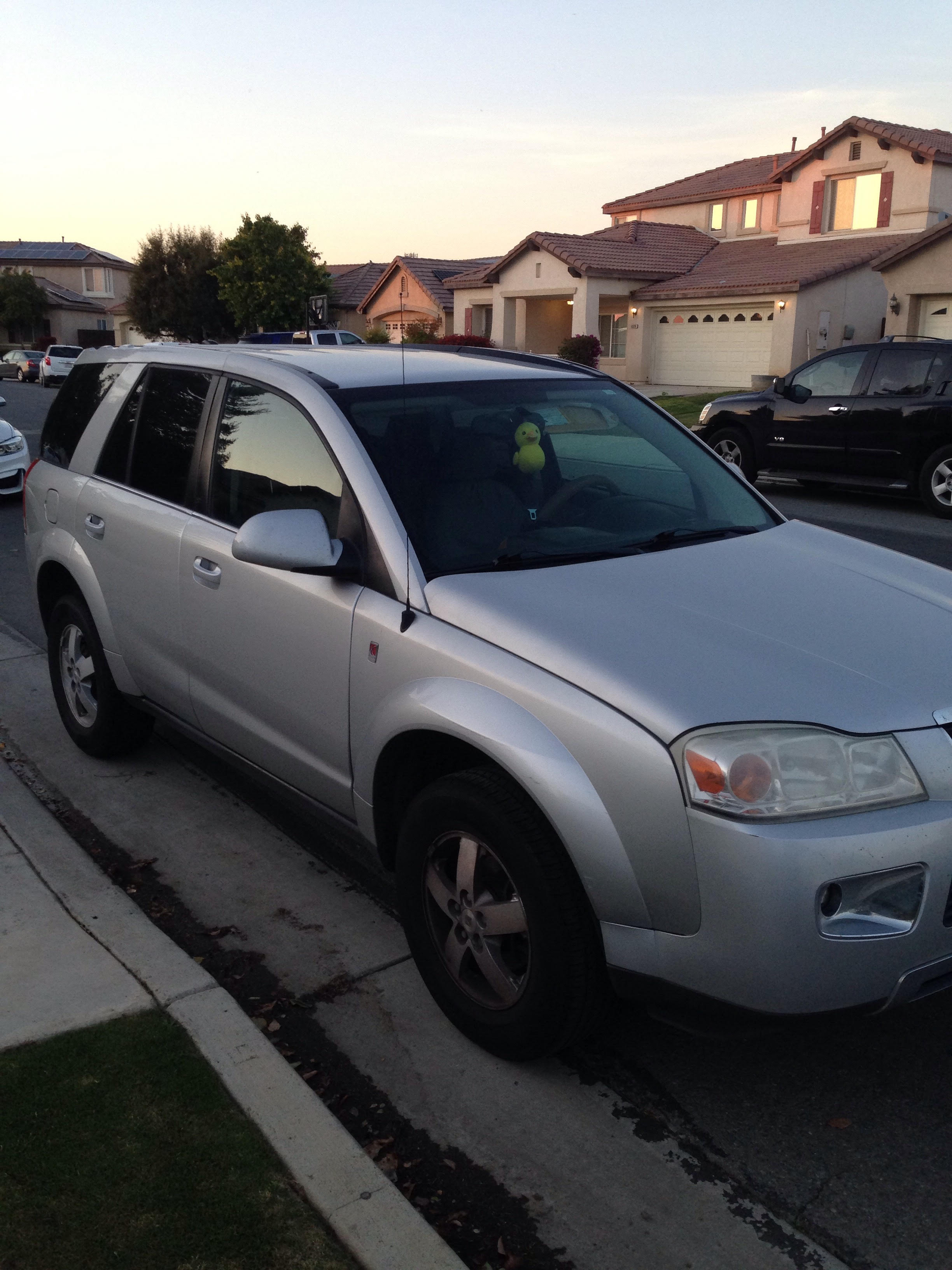 Went to a lot of client appointments with this car. a rusty old hand-me-down saturn vue.