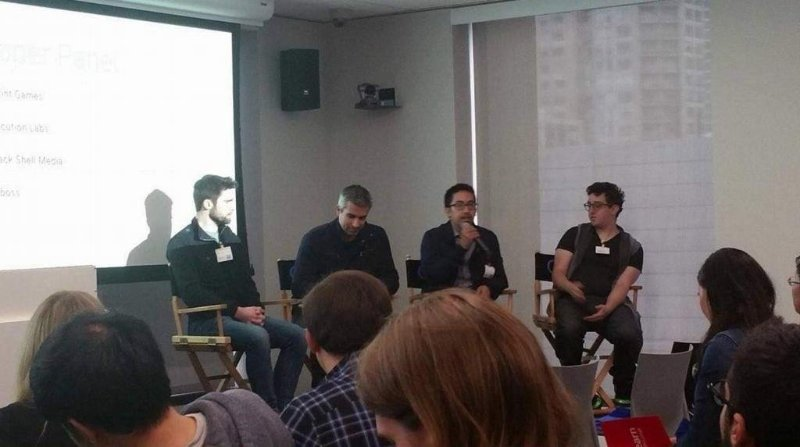SPOKE ON A MARKETING PANEL AT A GOOGLE EVENT. GAVE ADVICE ON GROWTH STRATEGY AND HOW TO OPTIMIZE TRACTION CHANNELS.