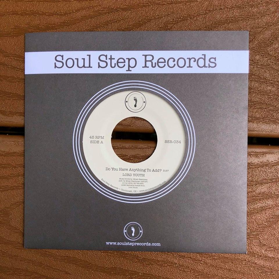 packshot 7 inch  order at Soul Step Records