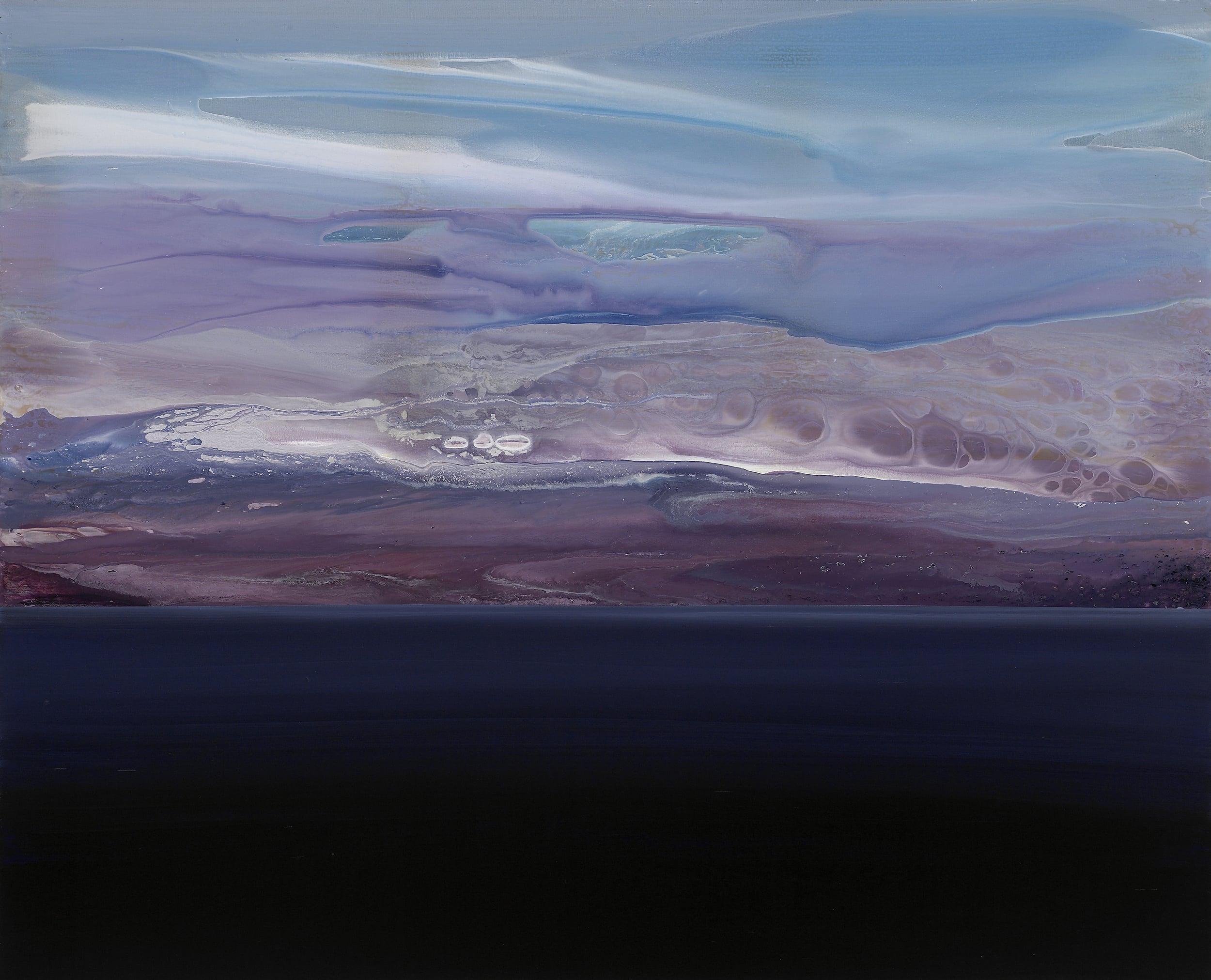 horizon_03  acrylic on canvas  162 cm X 130 cm  2013