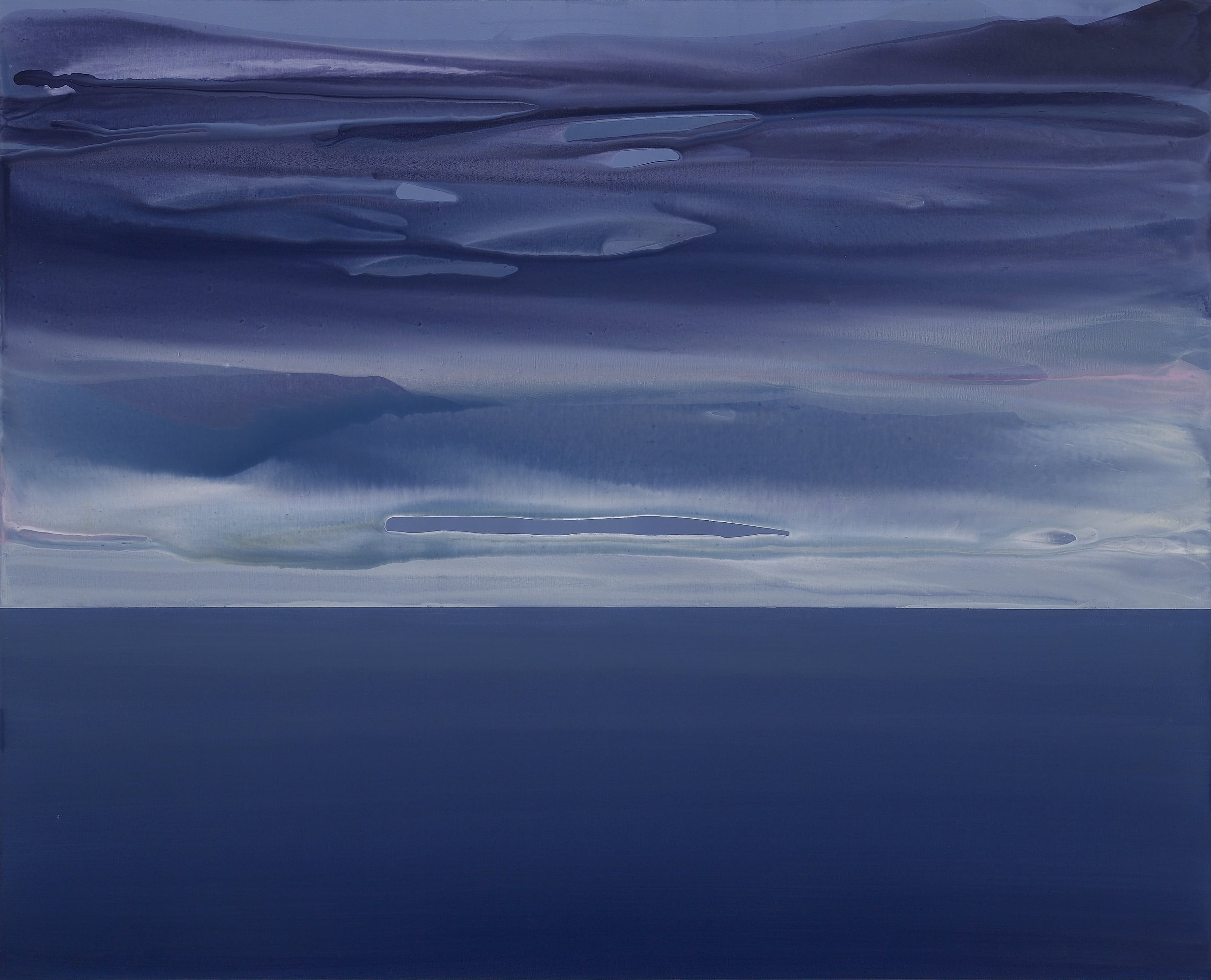 horizon_01  acrylic on canvas  162 cm X 130 cm  2013