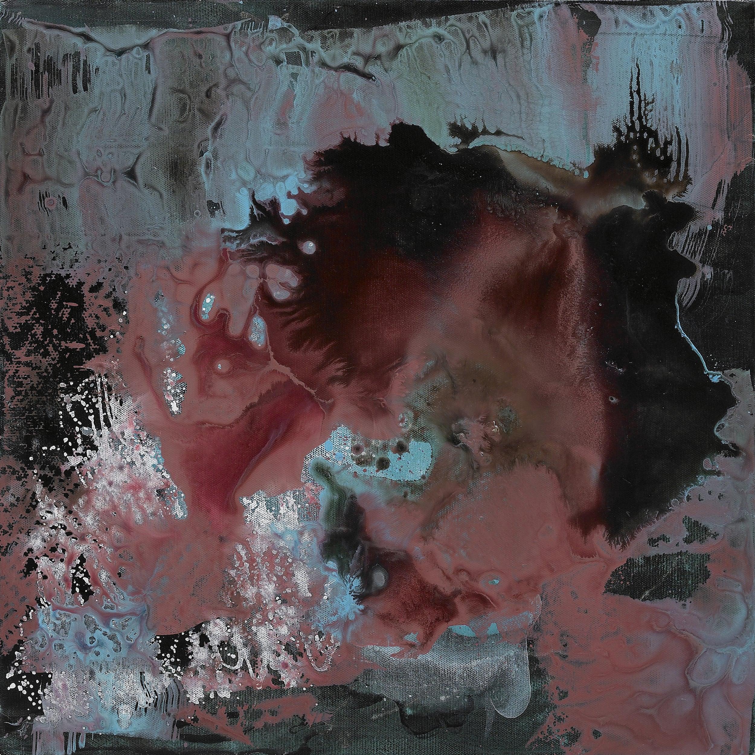 figure_31  acrylic and epoxy  resin on canvas  60 cm X 60 cm  2013