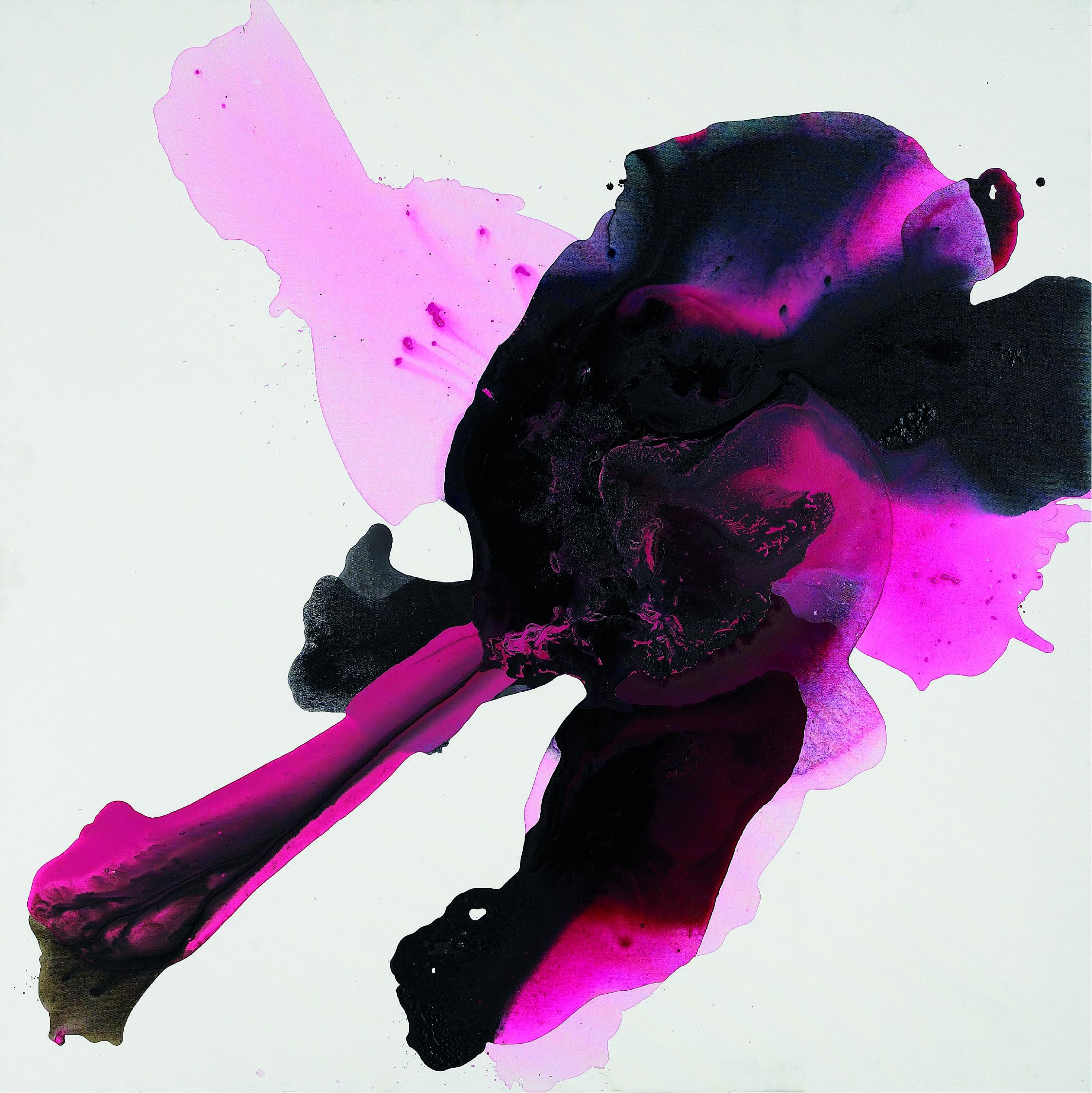 figure_24  acrylic on canvas  127 cm X 127 cm  2012