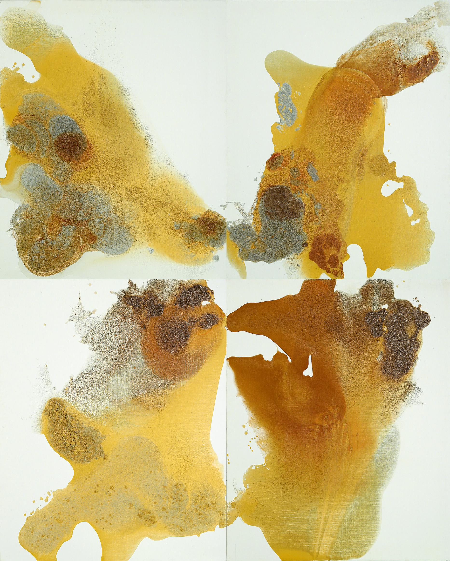 figure_21  acrylic and pumice  gel on canvas  260 cm X 324 cm  2012