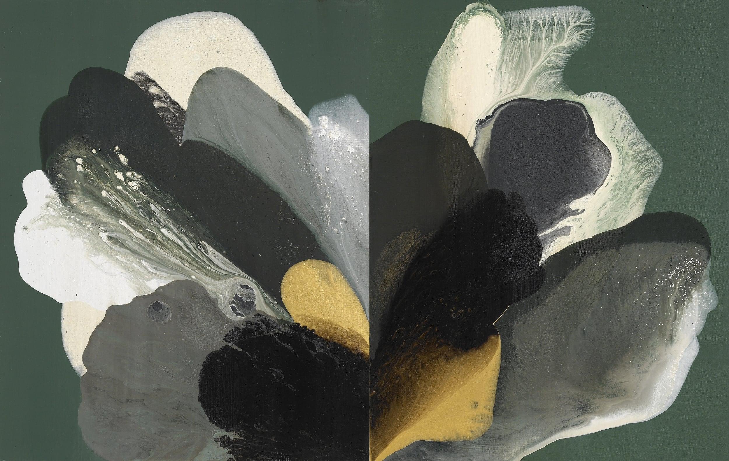 figure_12  acrylic and pumice  gel on canvas  130 cm X 162 cm  2013