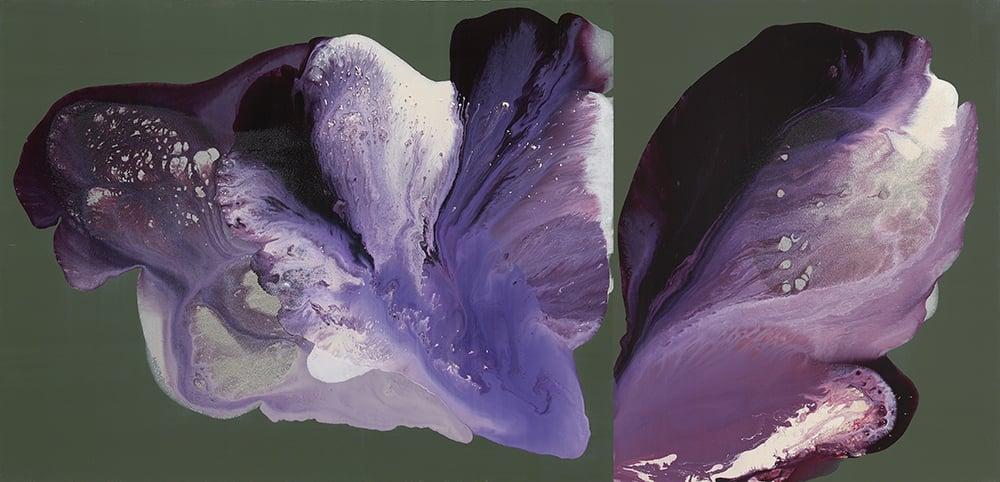 figure_07  acrylic and pumice  gel on canvas  189 cm X 91 cm  2014