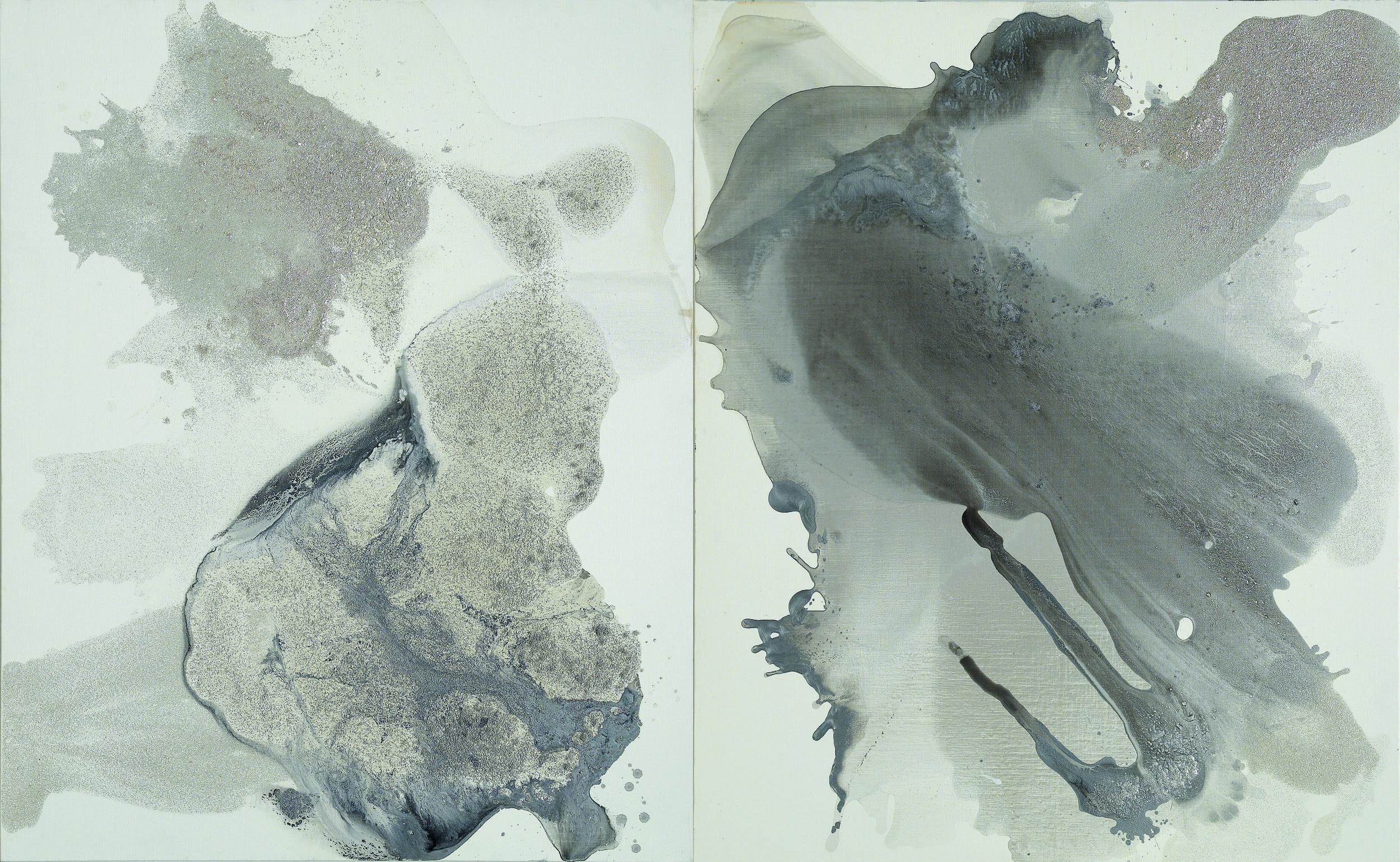 figure_20  acrylic and pumice  gel on canvas  260 cm X 162 cm  2012