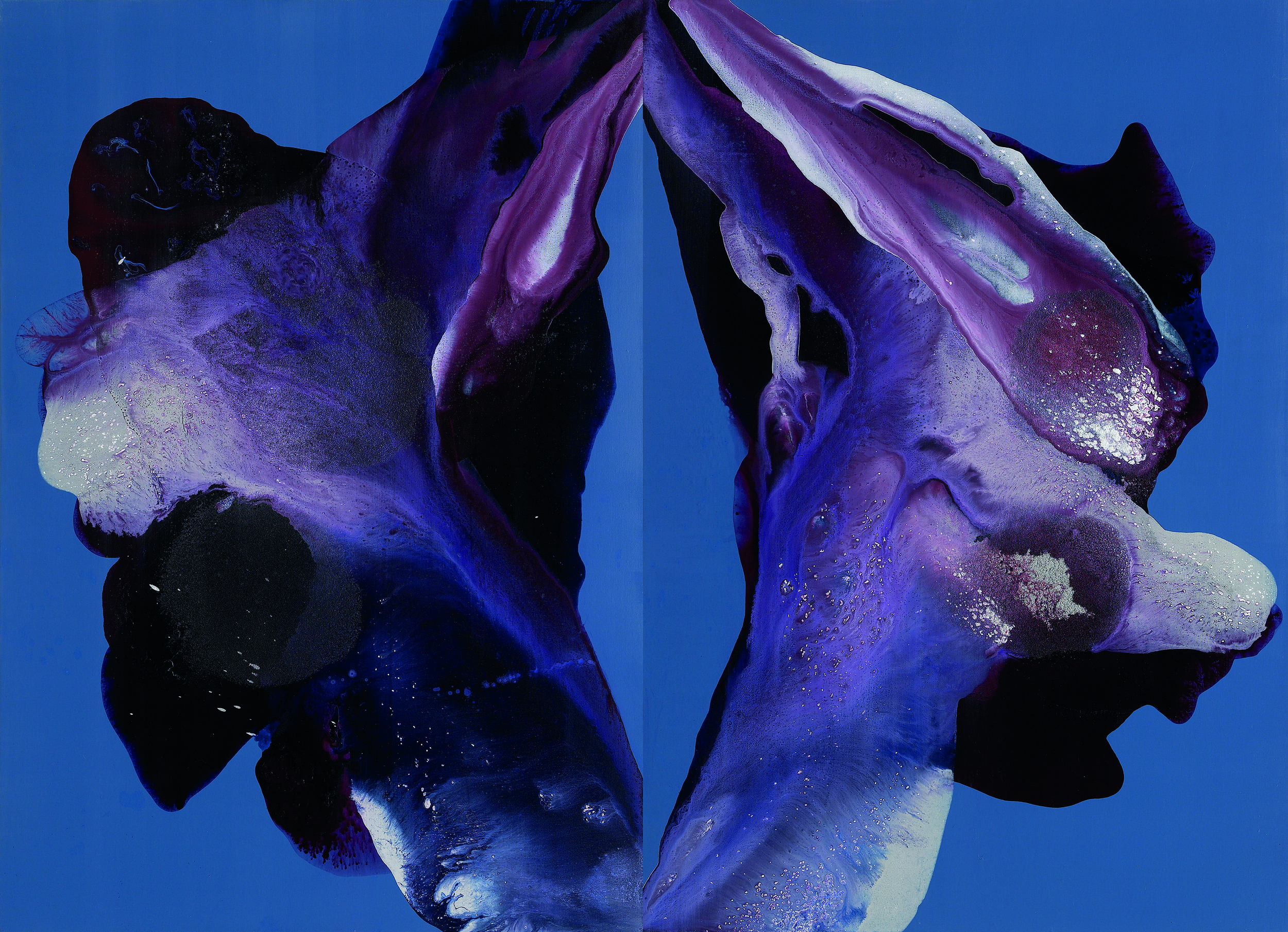 figure_14  acrylic and pumice  gel on canvas  160.6 cm X 116.8 cm  2014