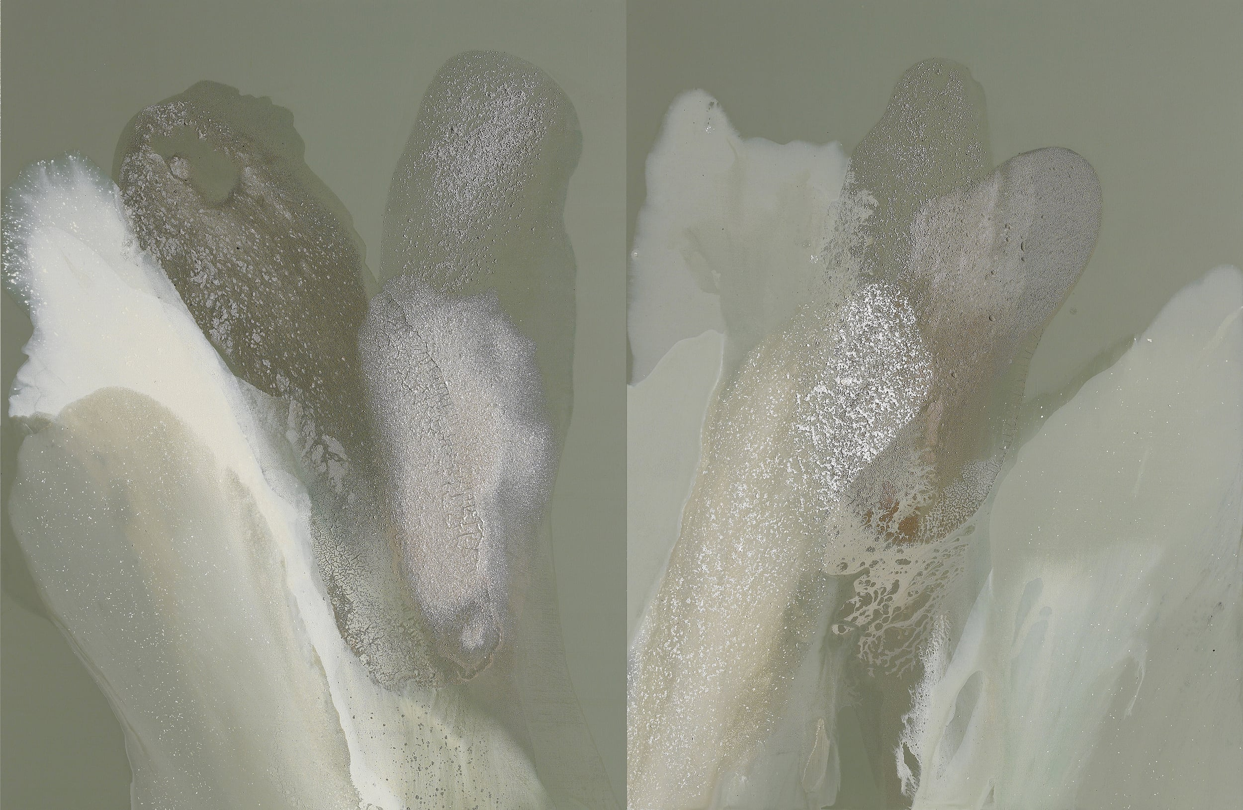 figure_16  acrylic and pumice  gel on canvas  139 cm X 162 cm  2014