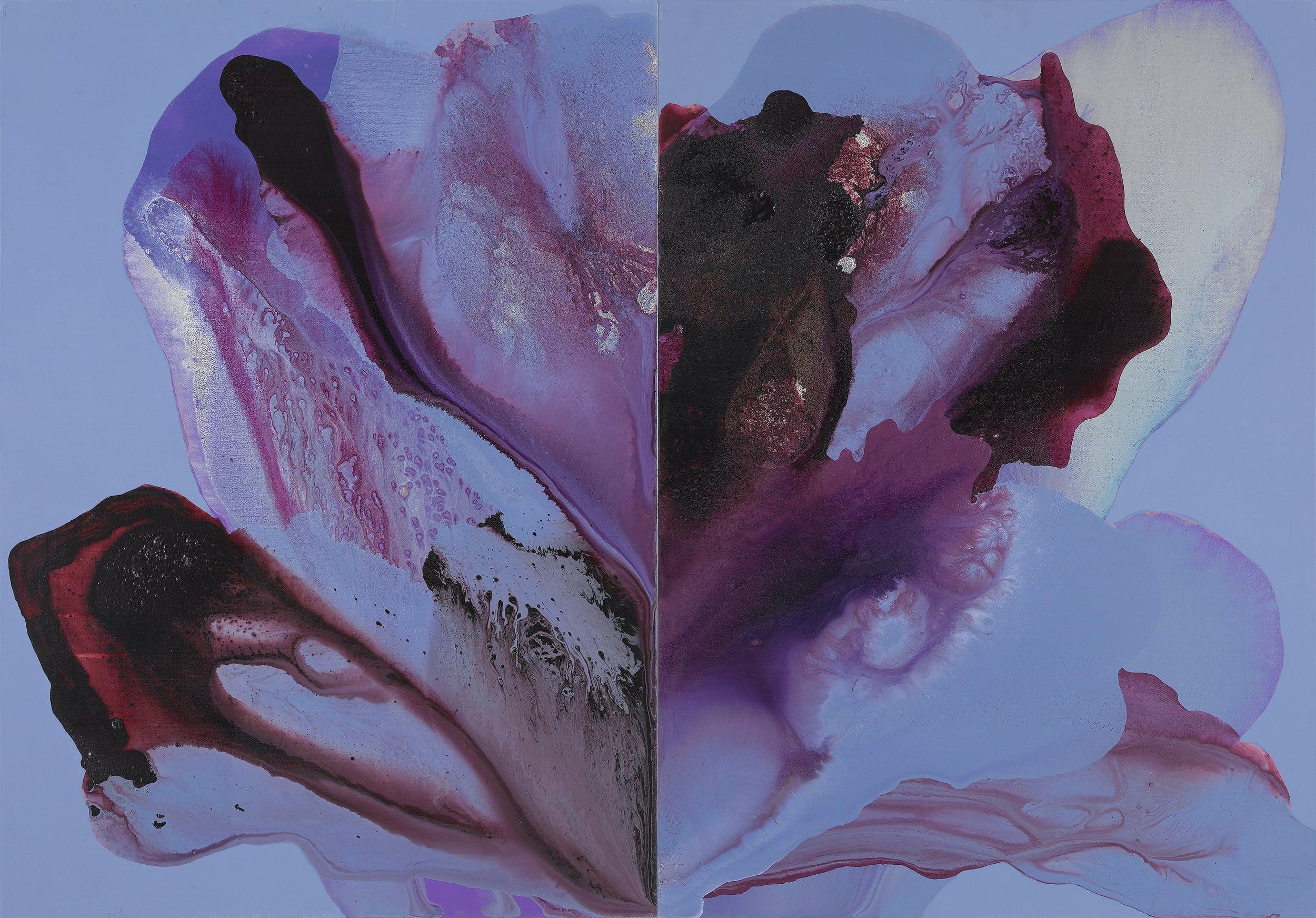 figure_08  acrylic and pumice  gel on canvas  132 cm X 92 cm  2013