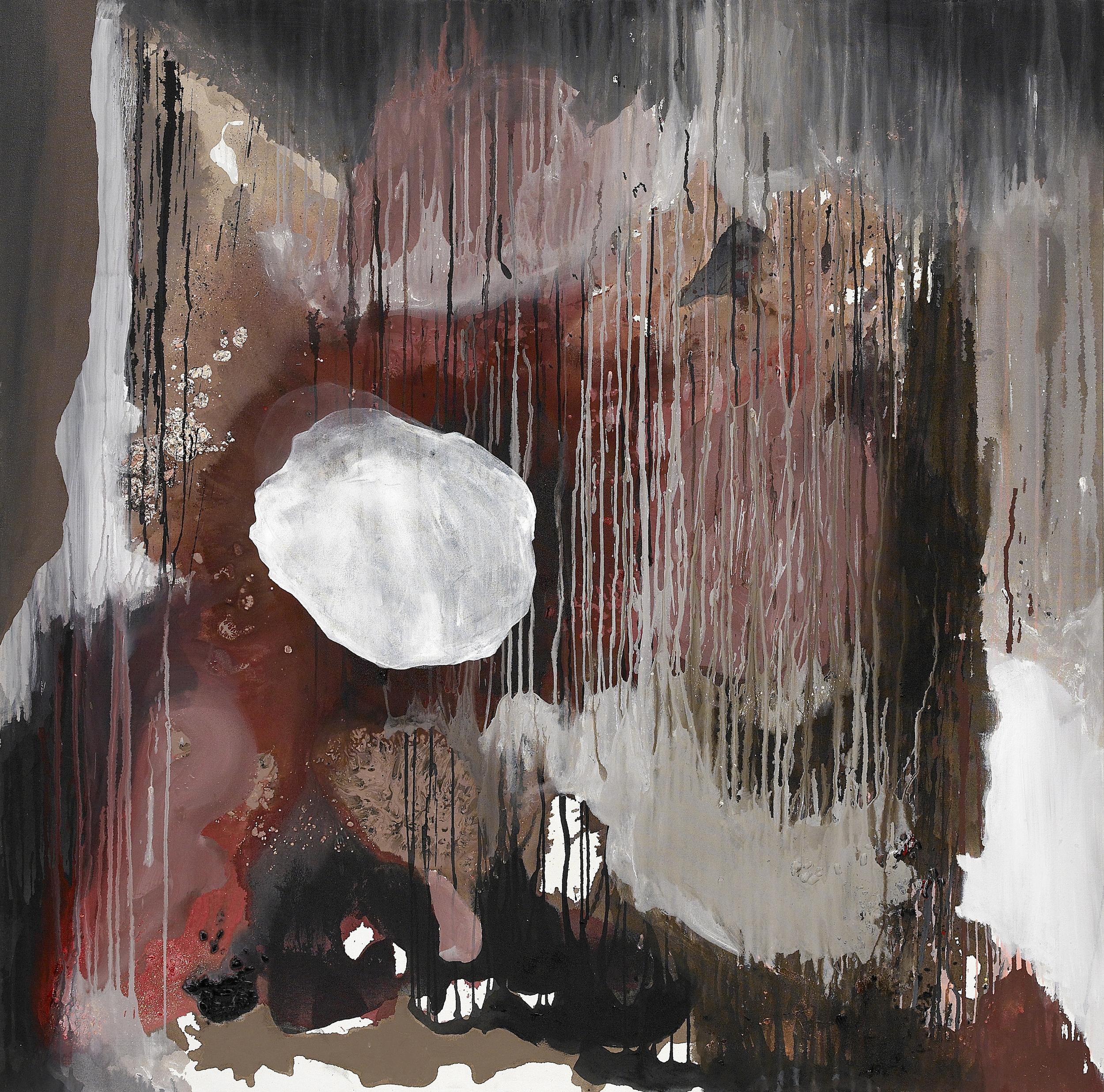 fall_03  acrylic on canvas  147 cm X 147 cm  2012