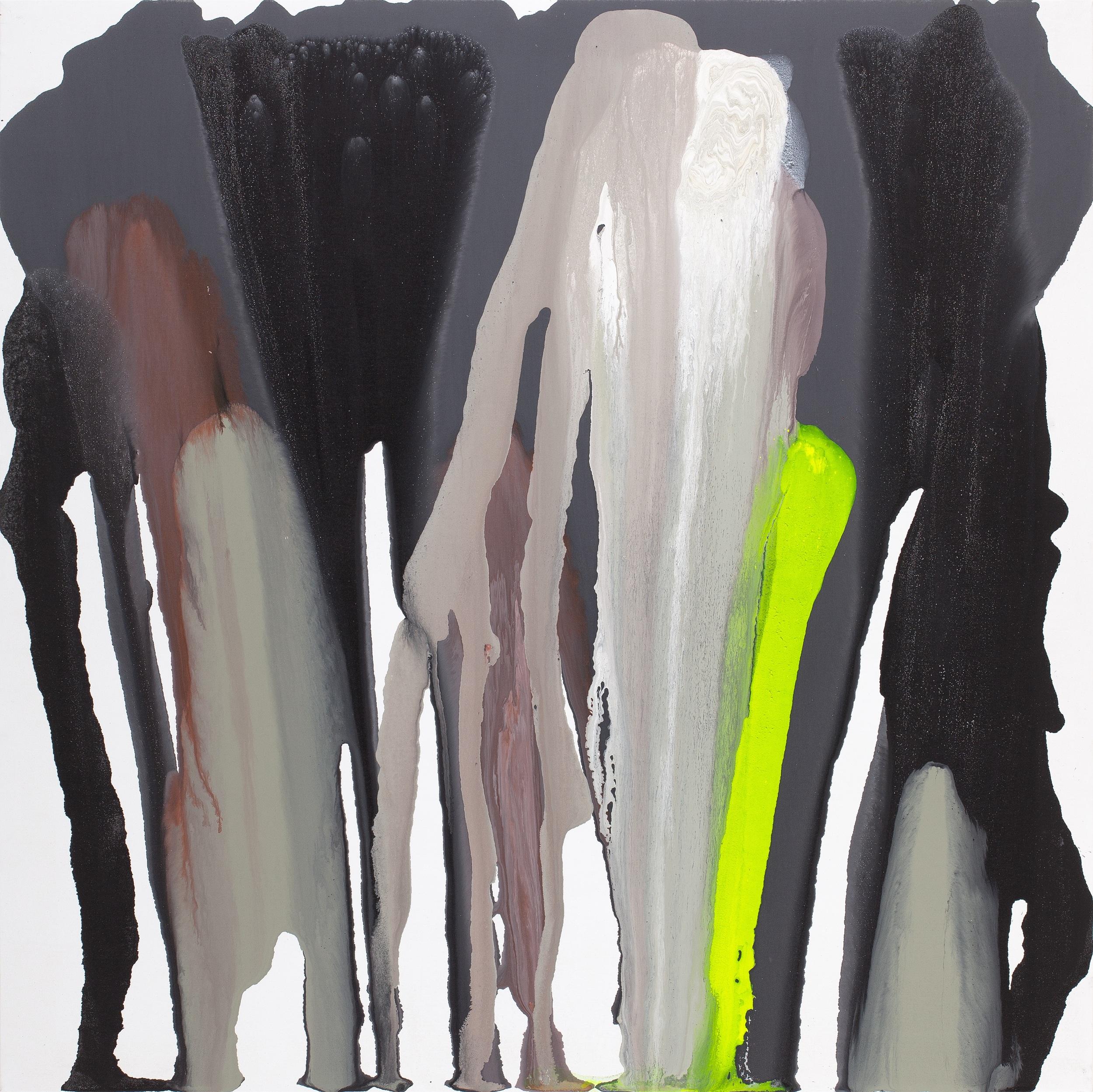 fall_09  acrylic on canvas  130 cm X 130 cm  2012