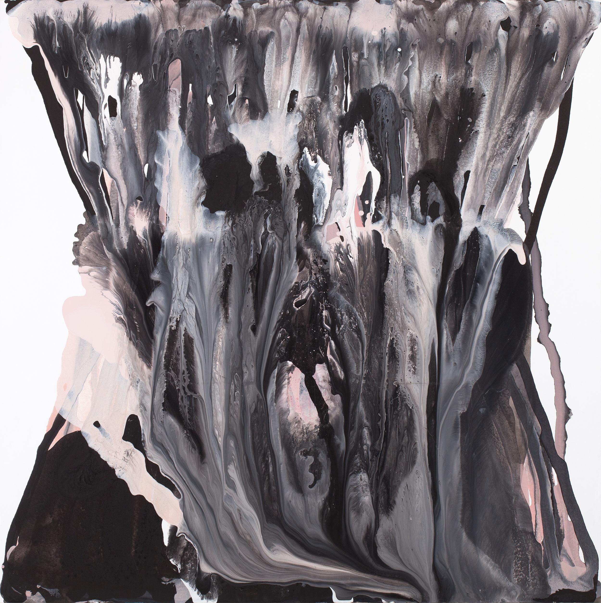 fall_01  acrylic on canvas  130 cm X 130 cm  2012